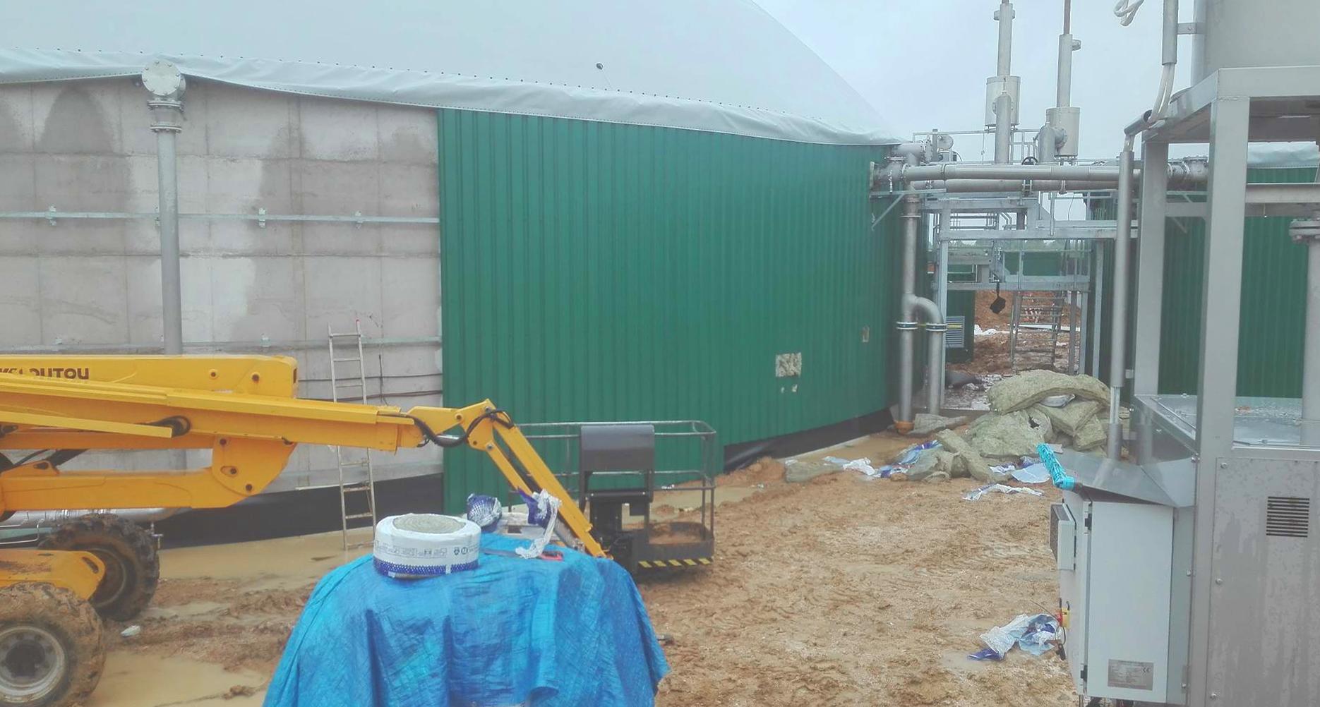 Mahé Biogas Boutigny France Revestimiento de digestores-Mahe 01