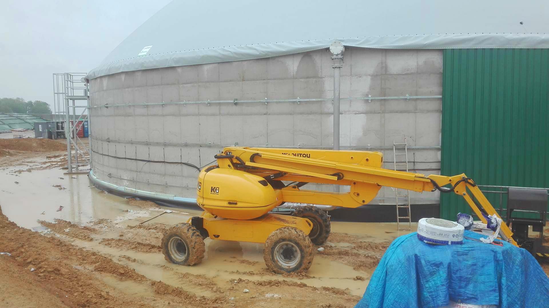 Mahé Biogas Boutigny France Revestimiento de digestores-Mahe 02