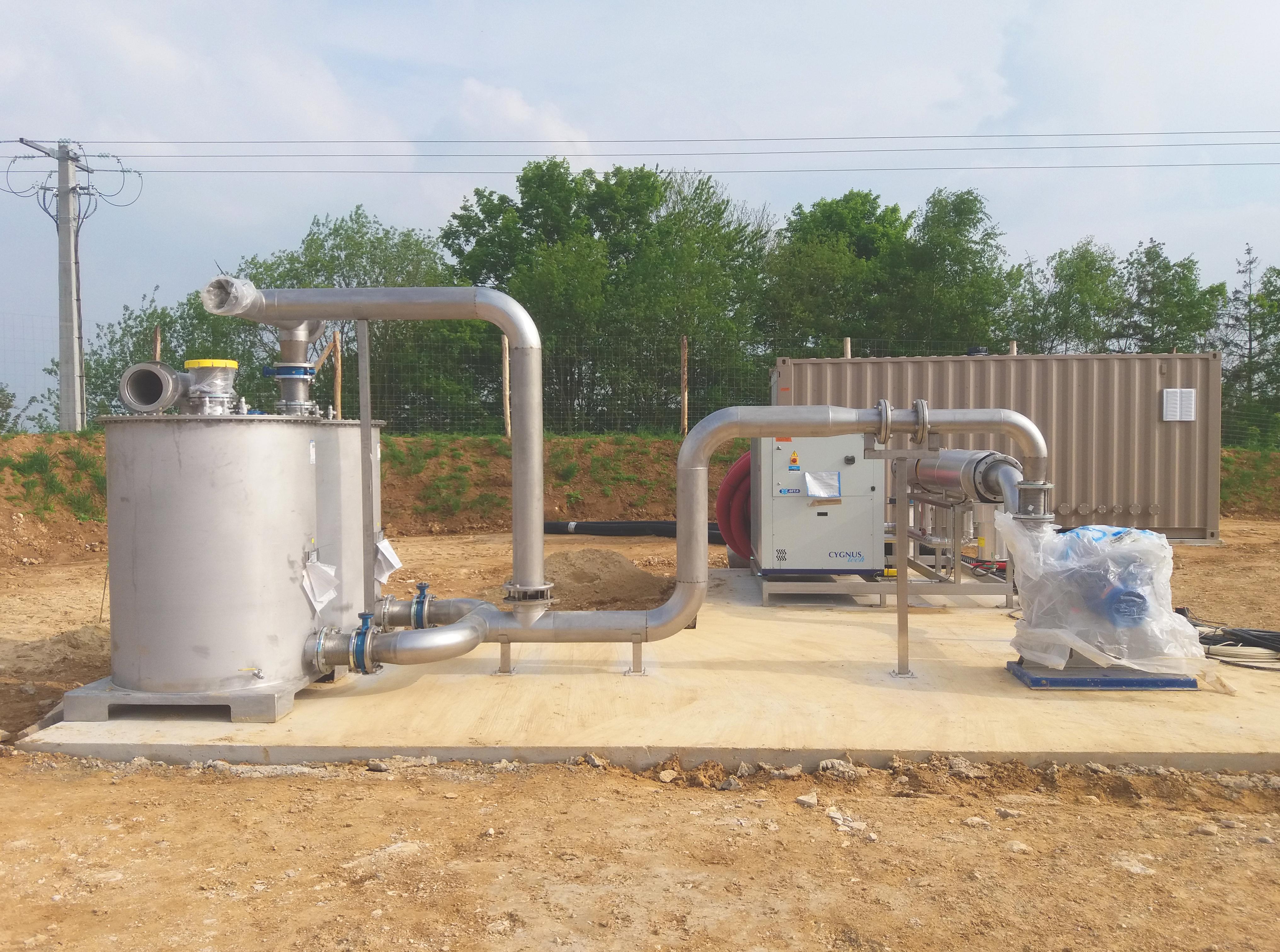 Biogás Valois Senlis Francia 01Gas cooling-Valois-INDEREN