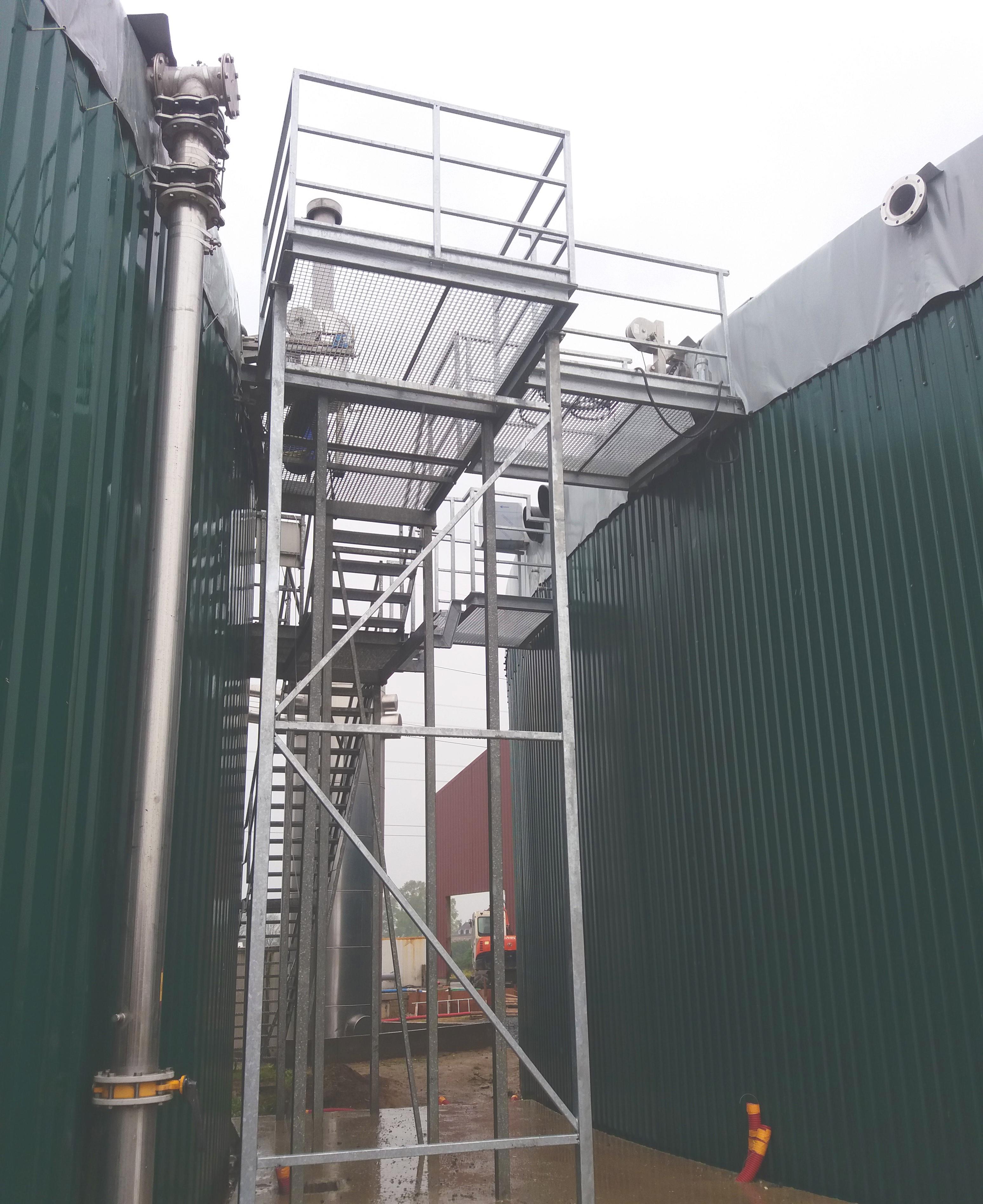 Biogás Valois Senlis Francia 04PlataformaCentral-Valois-INDEREN