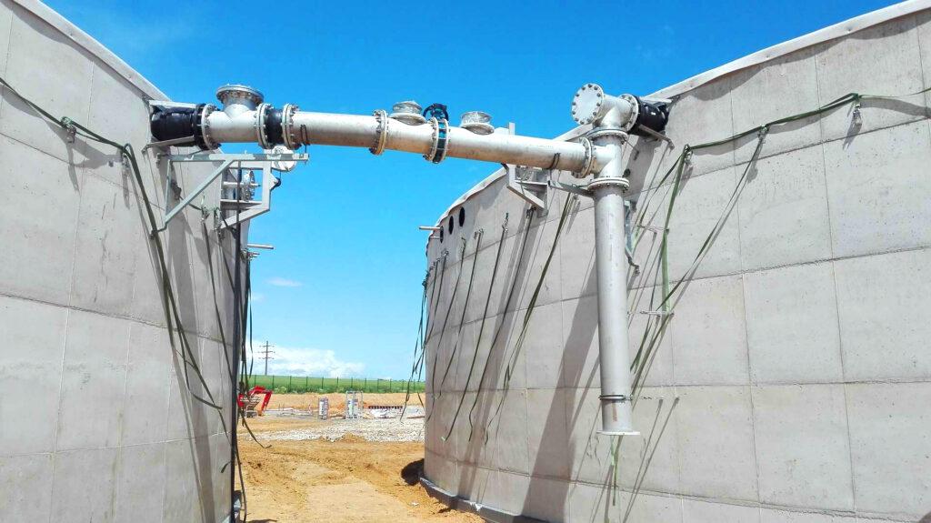 Biogas Plant Biometa France Balanceo de gas INDEREN 01