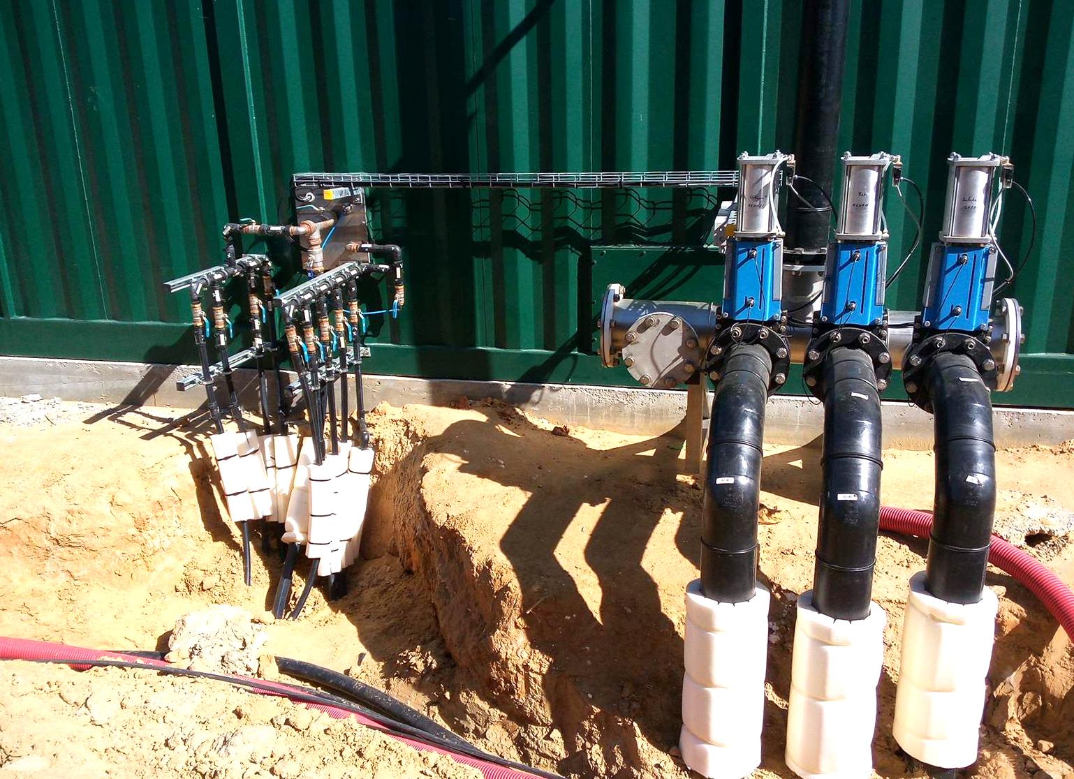 Biogás Planta Biometa Francia Contenedor de Proceso 01