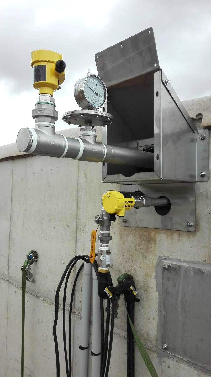 Biogás Planta Biometa Francia Montage de digestores 02
