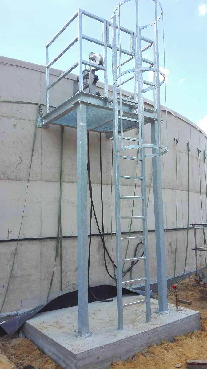 Biogás Planta Biometa Francia Plataformas 04