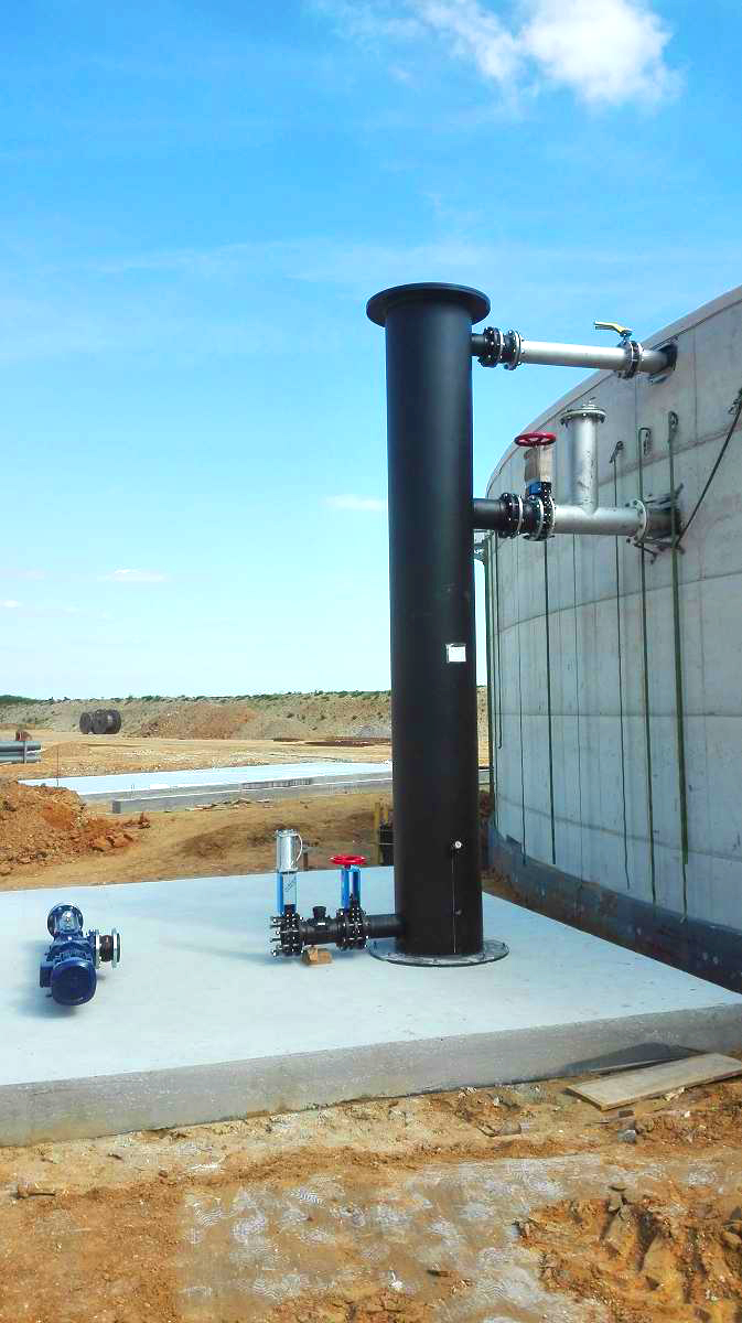 Biogás Planta Biometa Francia Recirculación 03