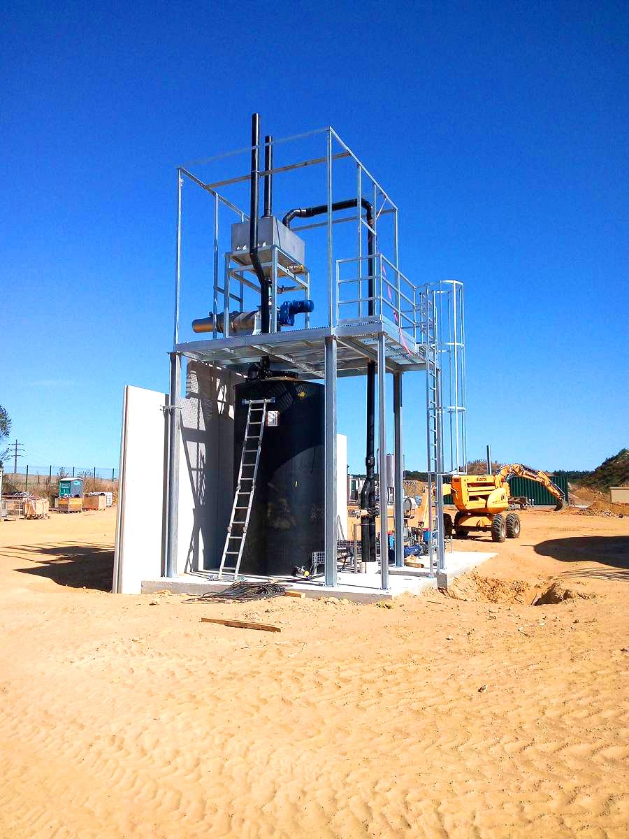 Biogas Plant Biometa France Separador INDEREN 01