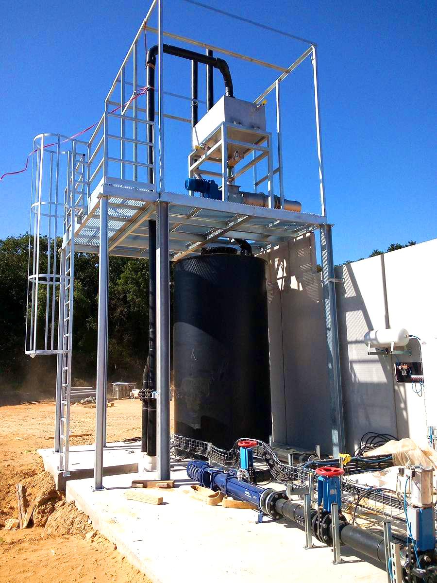 Biogas Plant Biometa France Separador INDEREN 02