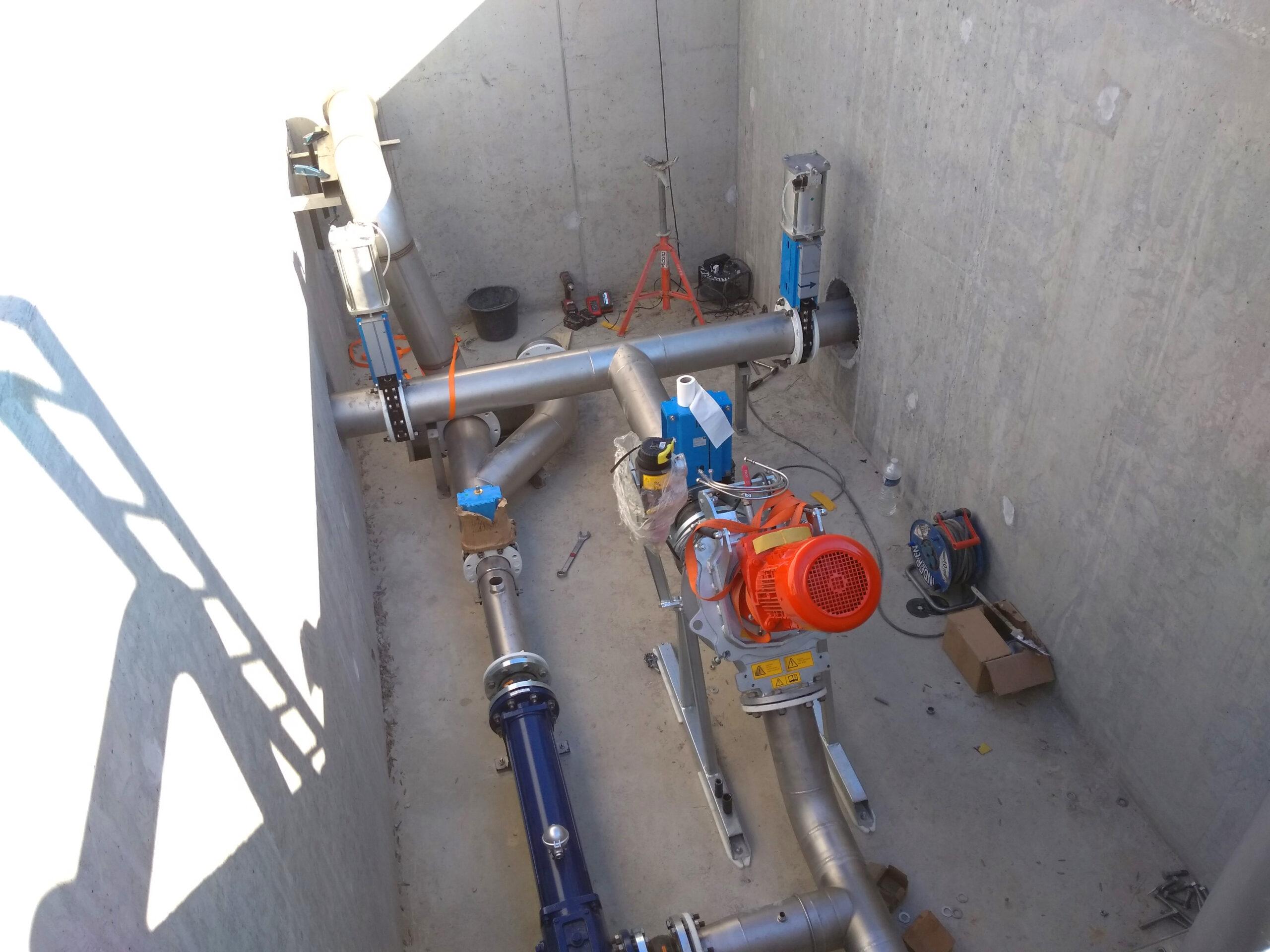Biogás Planta Méthanisère Francia Biowatt 01
