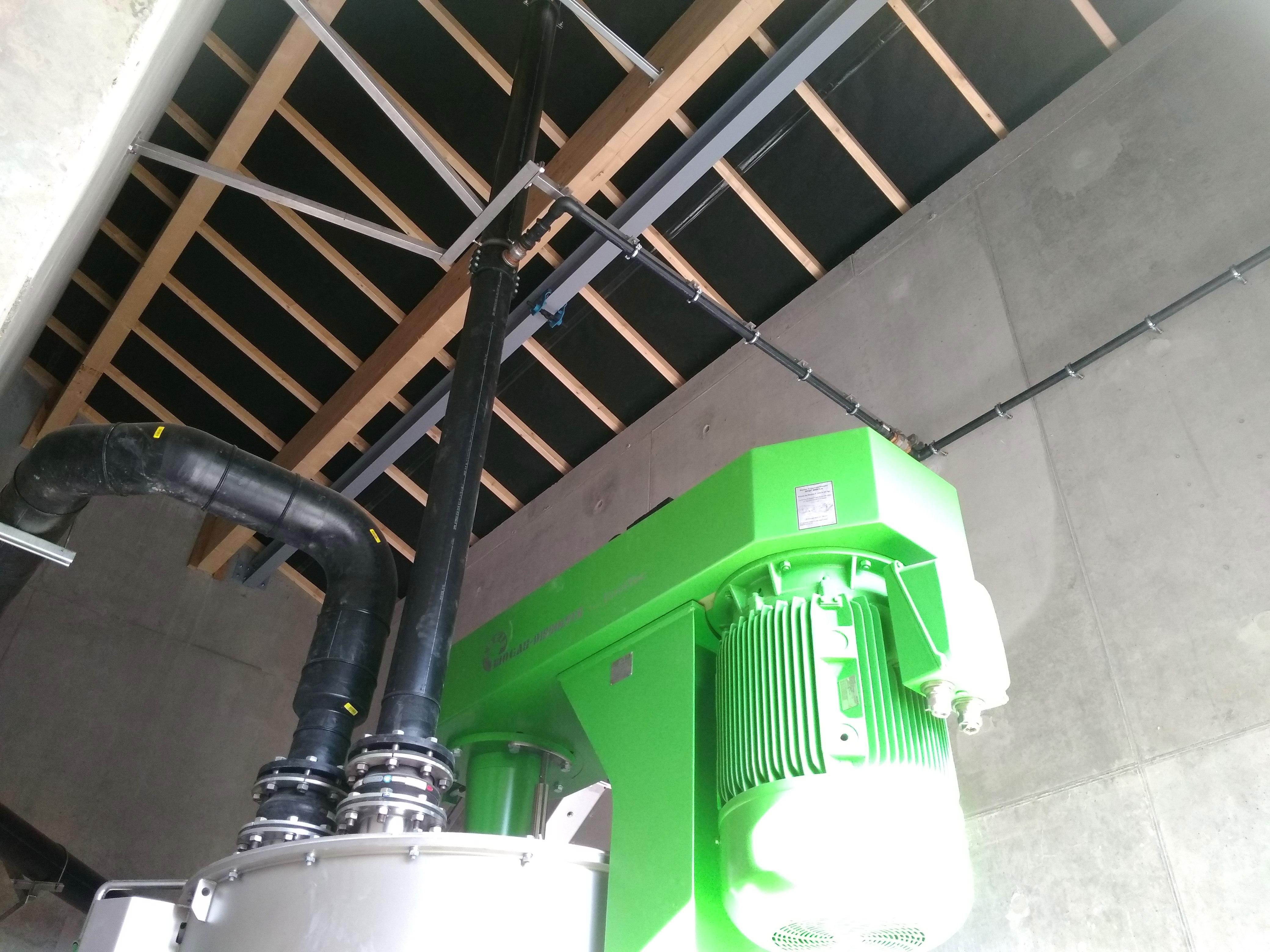 Biogas Plant Méthanisère France Edificio Técnico