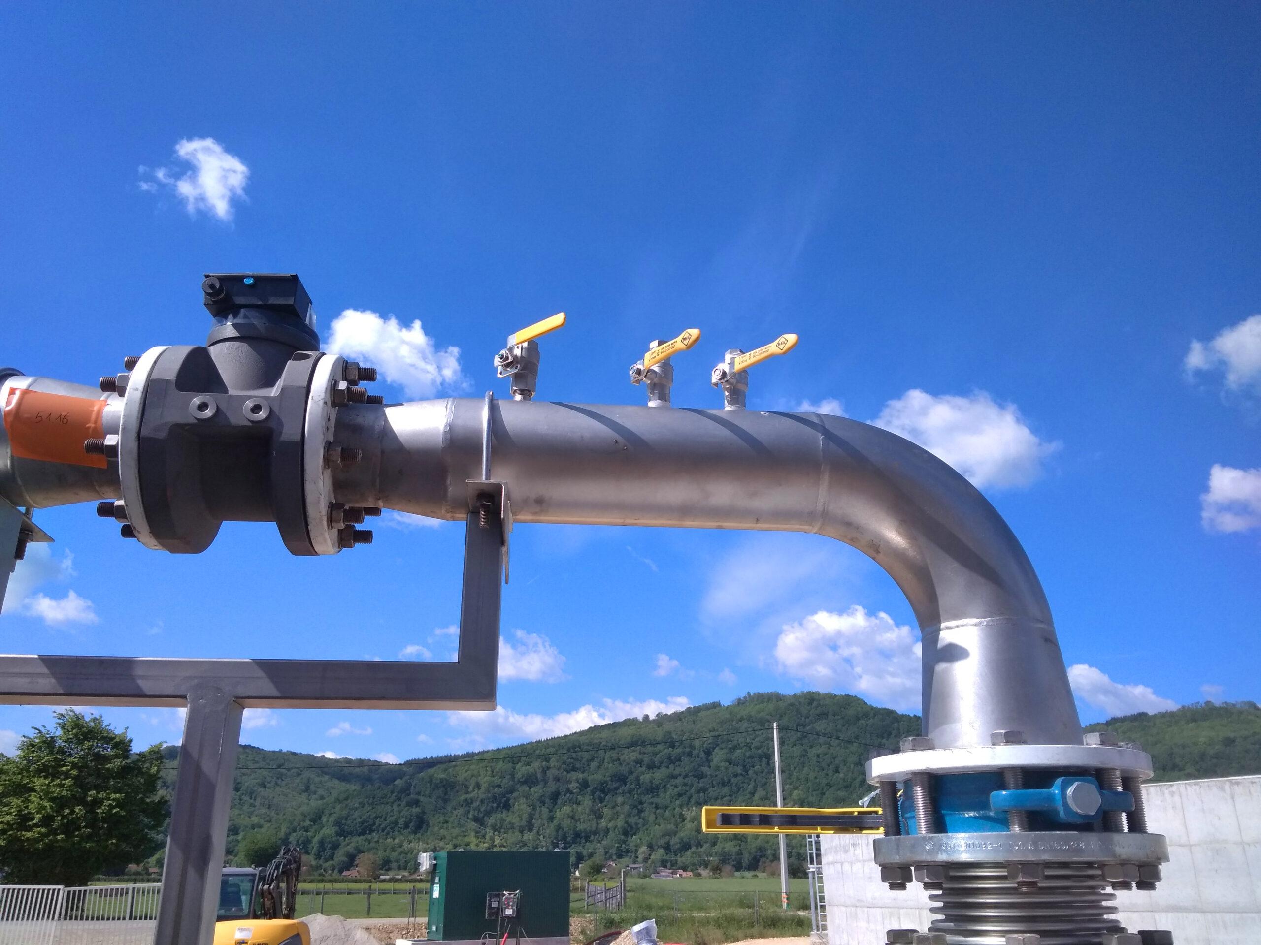 Biogás Planta Méthanisère Francia Gas Cooling 01