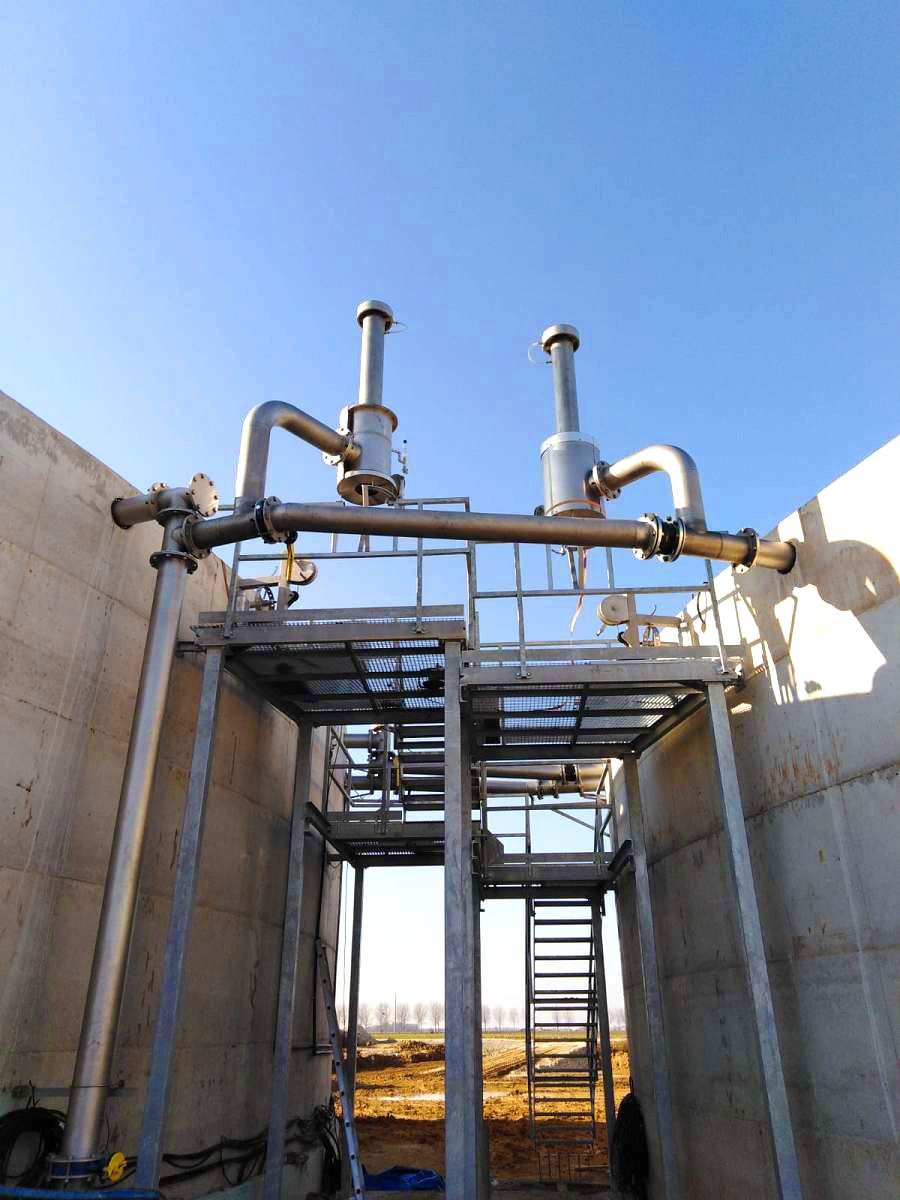Biogas Plant Méthanisère France Plataformas 01
