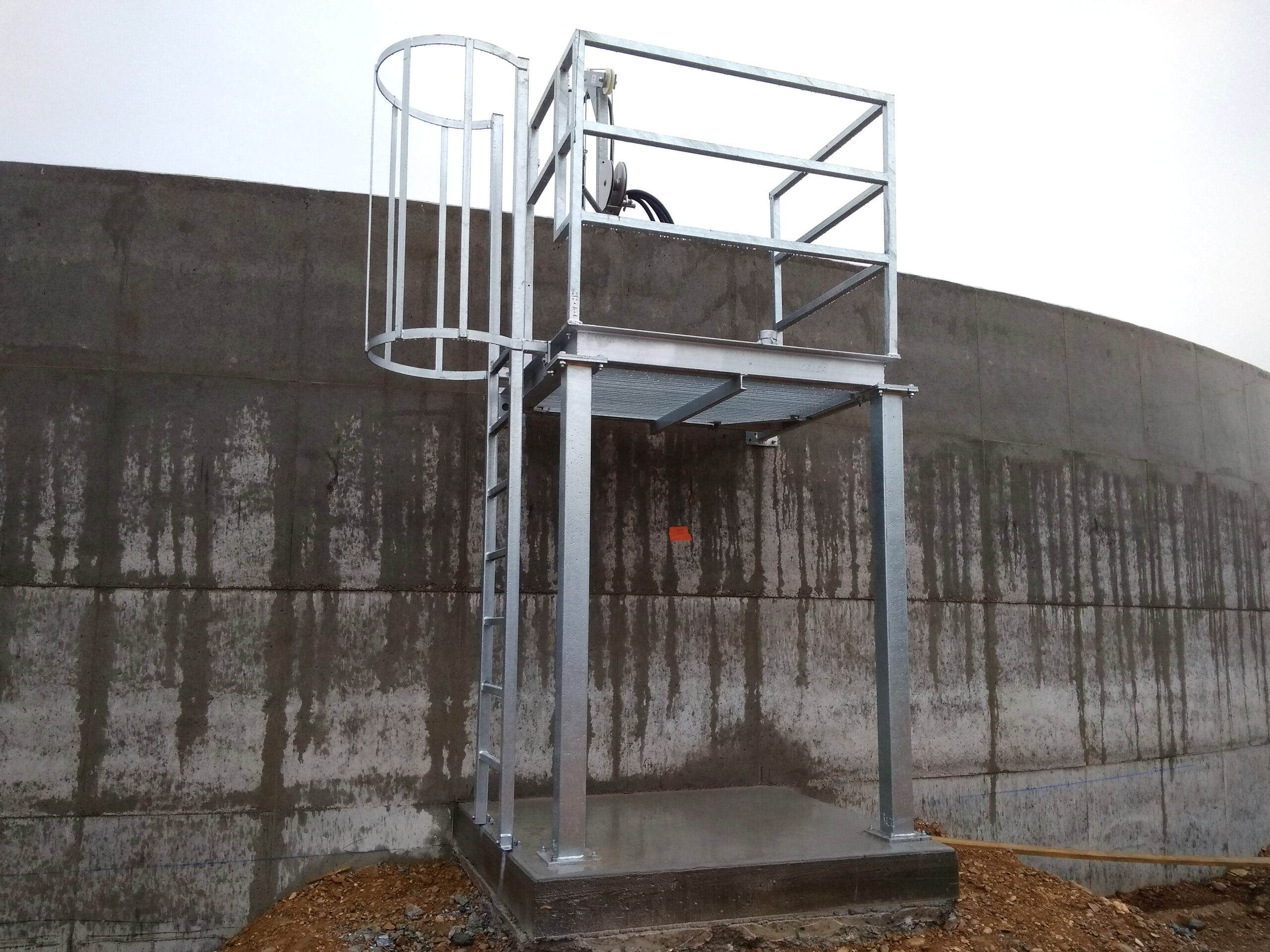 Biogás Planta Méthanisère Francia Plataformas 02