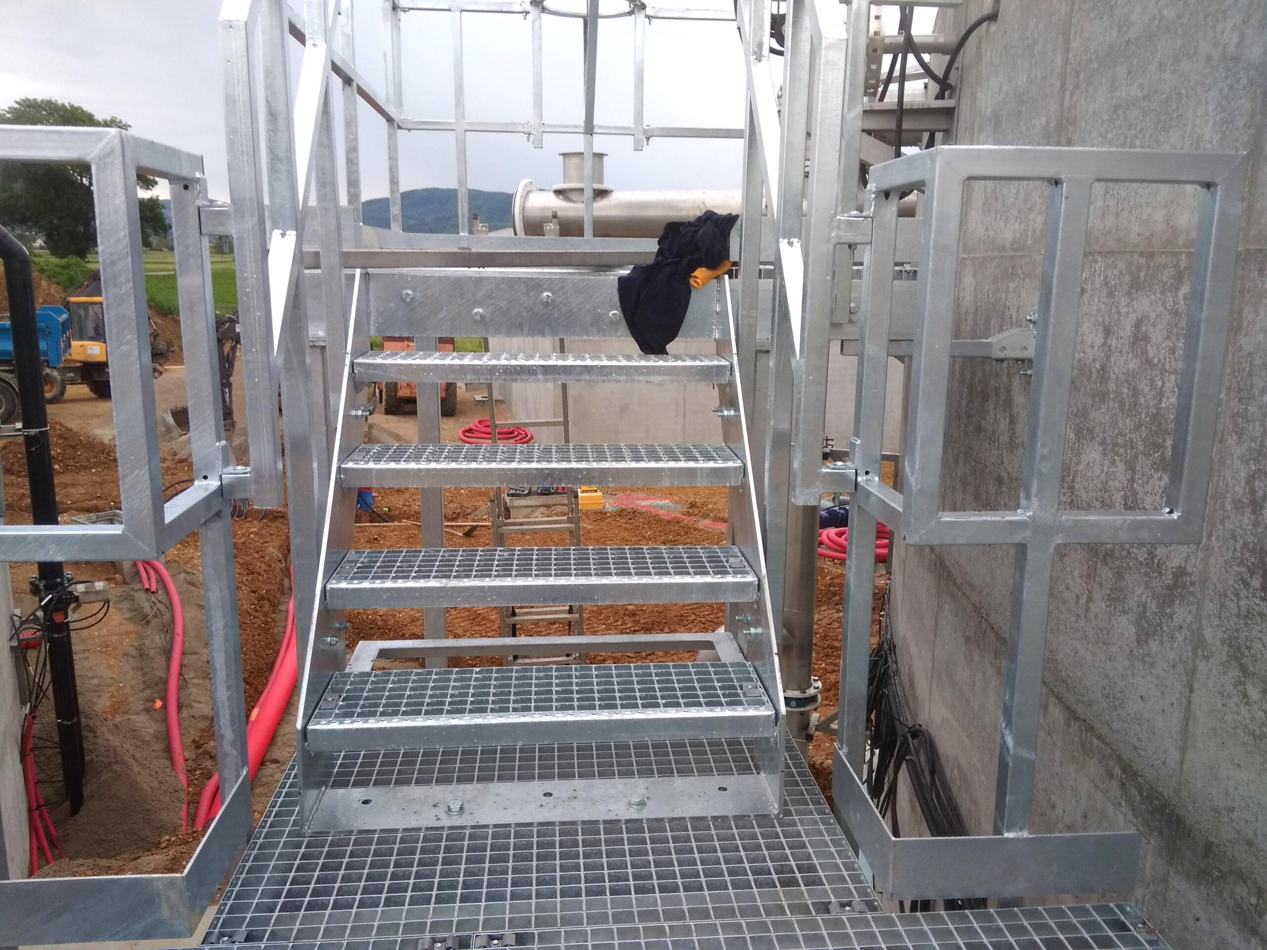 Biogás Planta Méthanisère Francia Plataformas 04