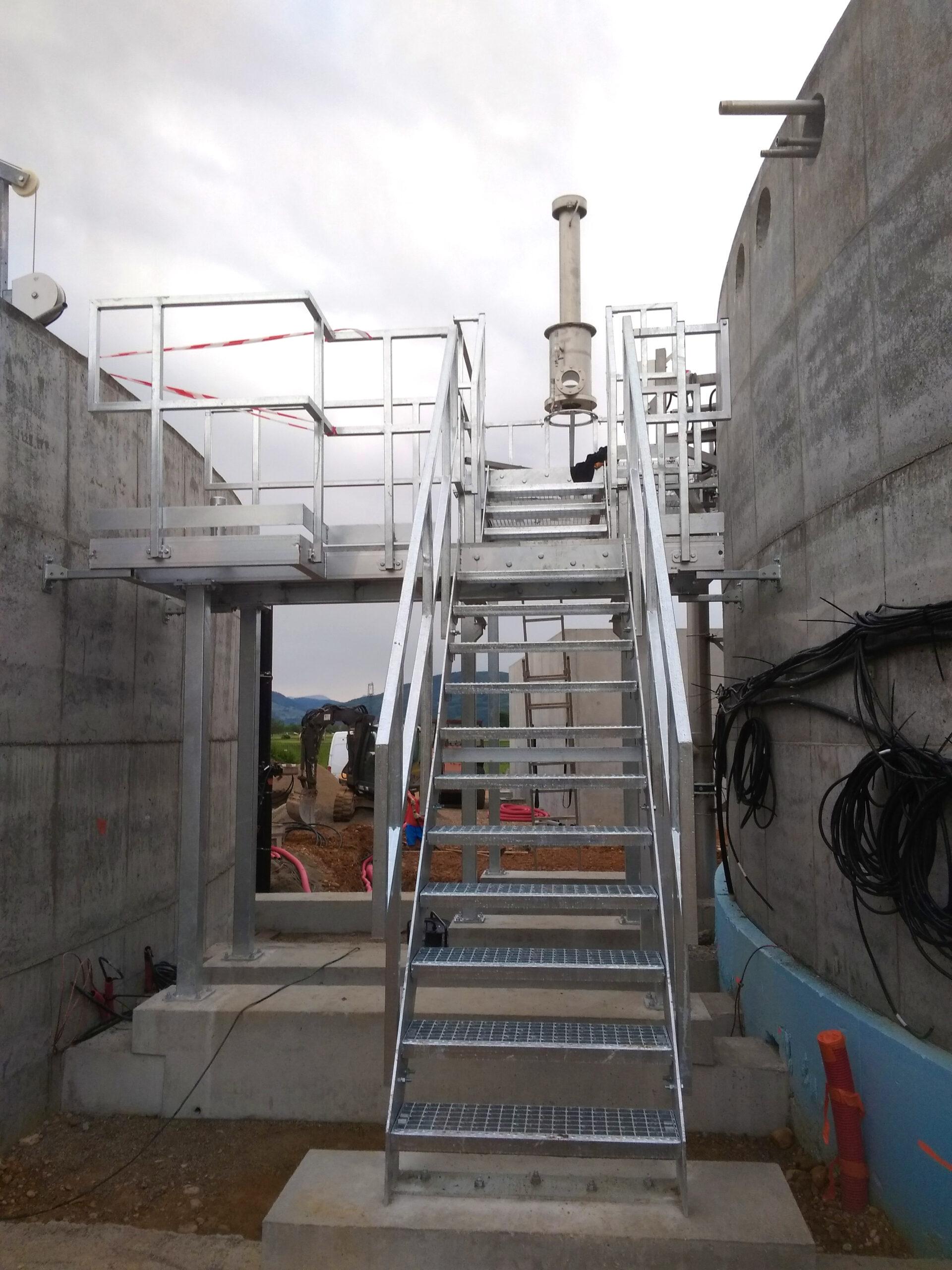 Biogás Planta Méthanisère Francia Plataformas 05