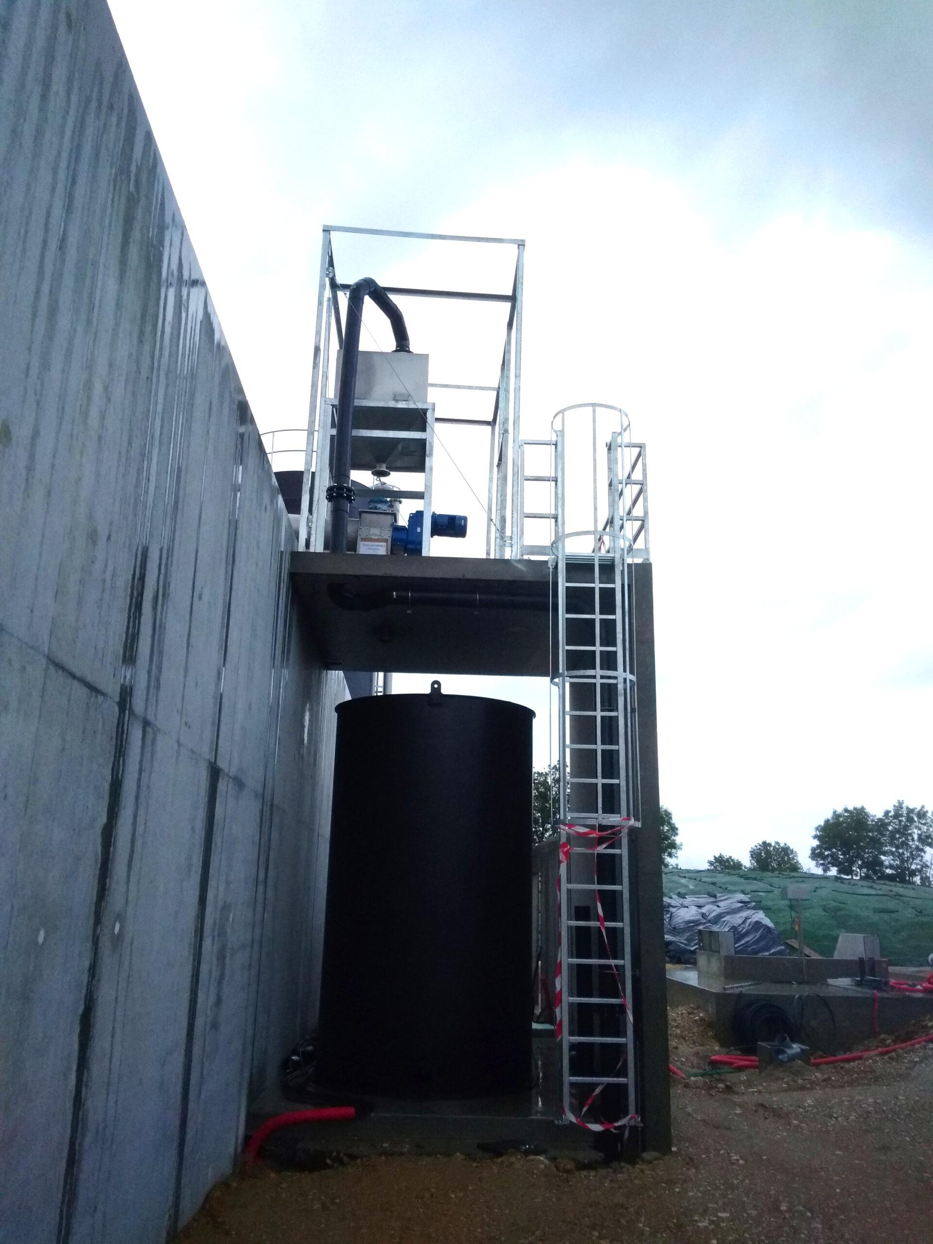 Biogás Planta Méthanisère Francia Plataformas 06
