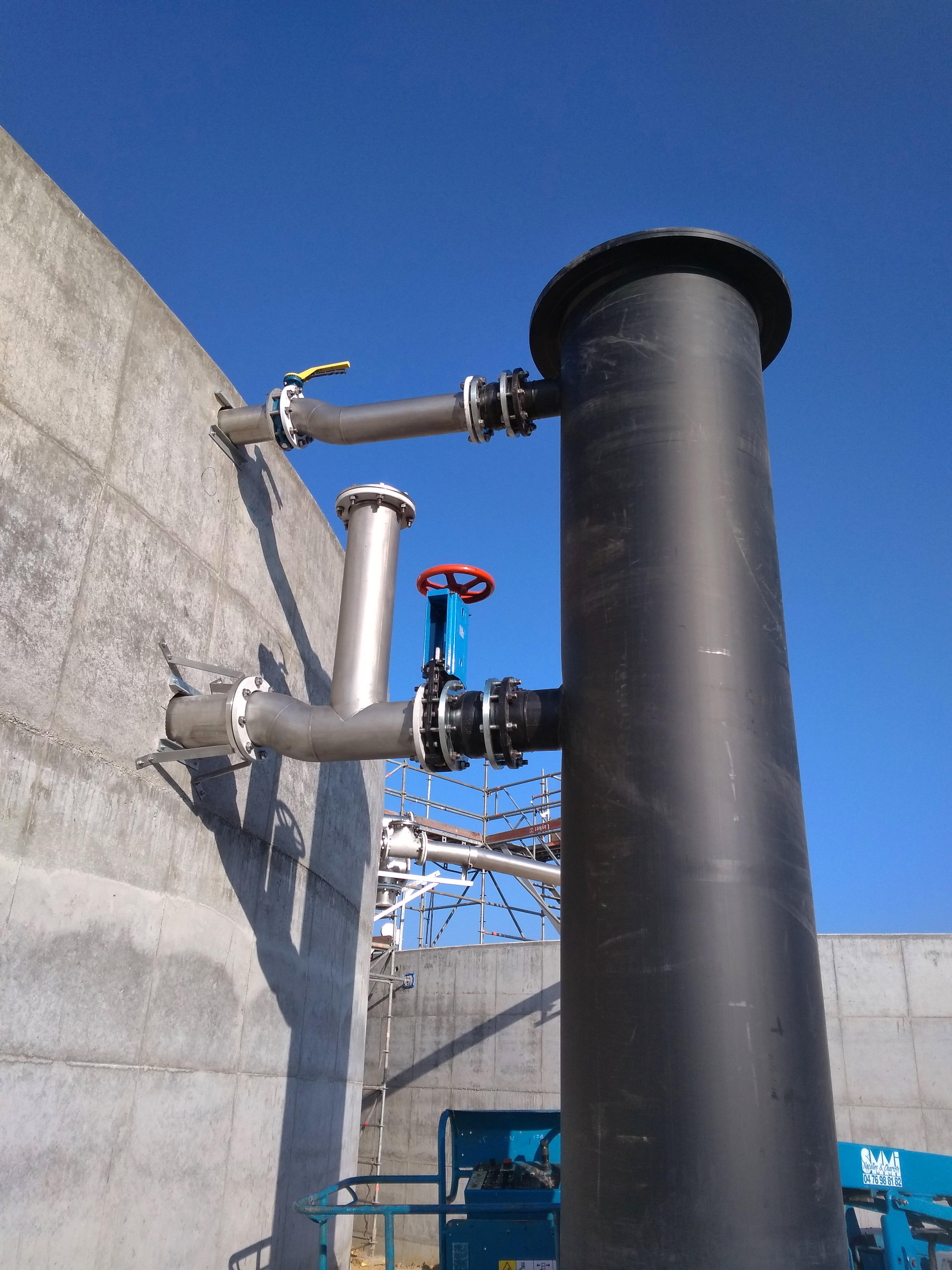 Biogas Plant Méthanisère France Recirculación 01