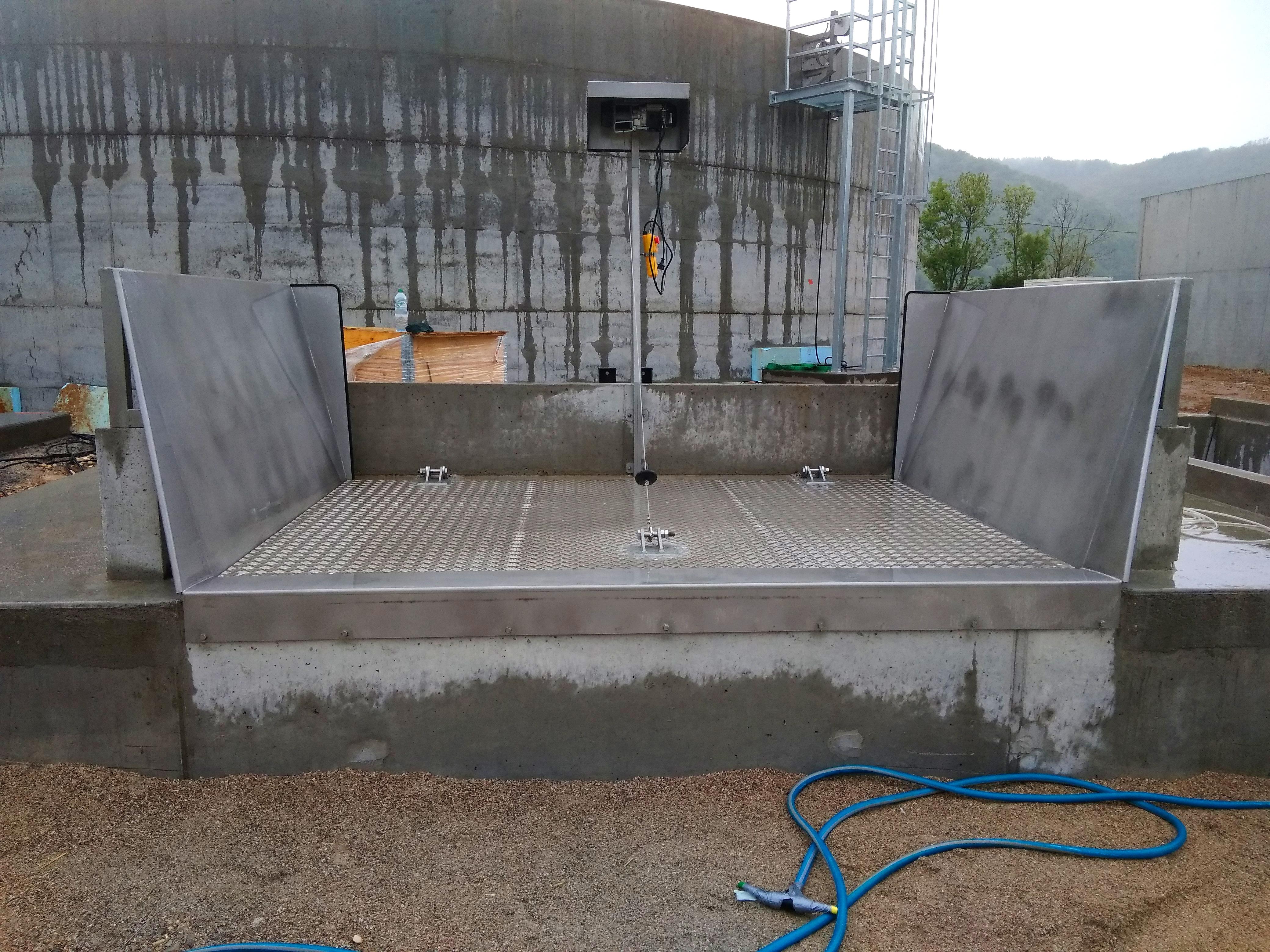 Biogas Plant Méthanisère France Cubiertas inoxidables 01