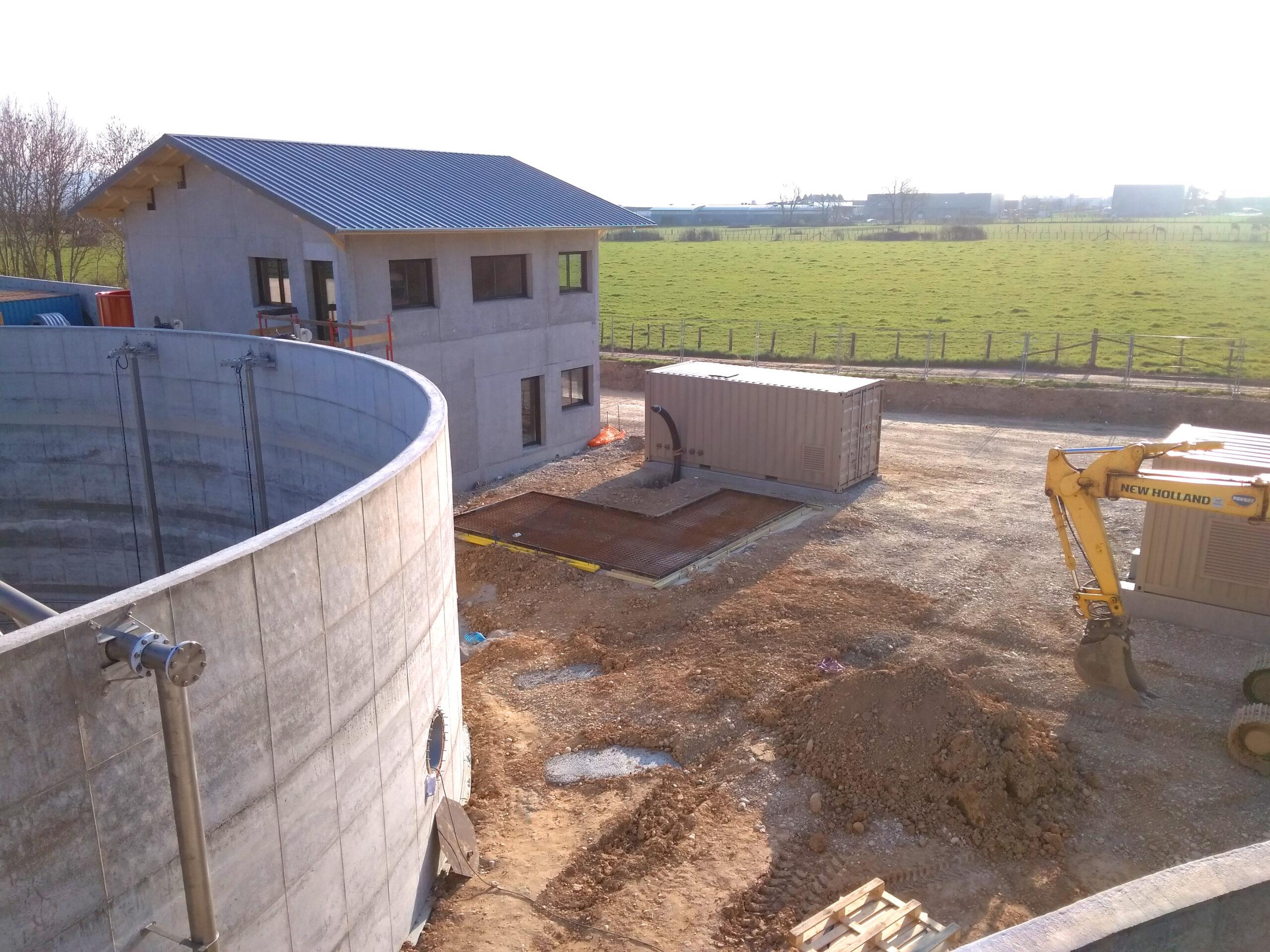 Biogás Planta Méthanisère Francia Vista General 05