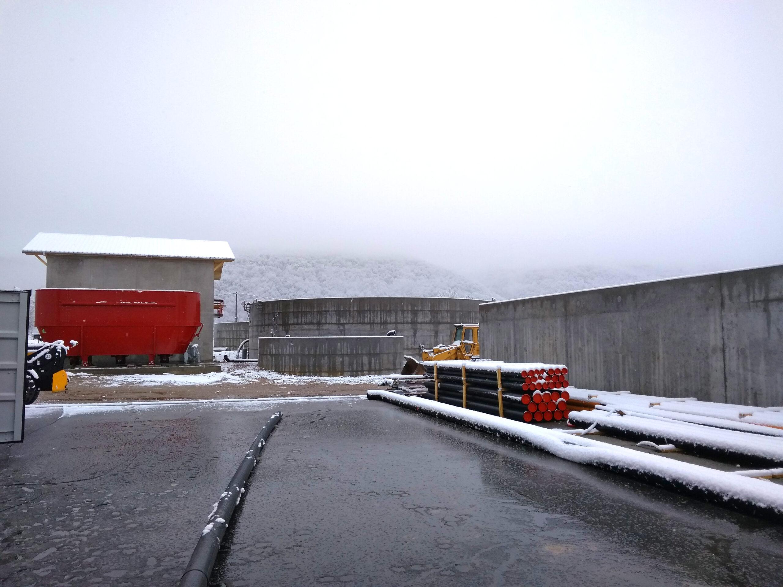 Biogás Planta Méthanisère Francia Vista General 06
