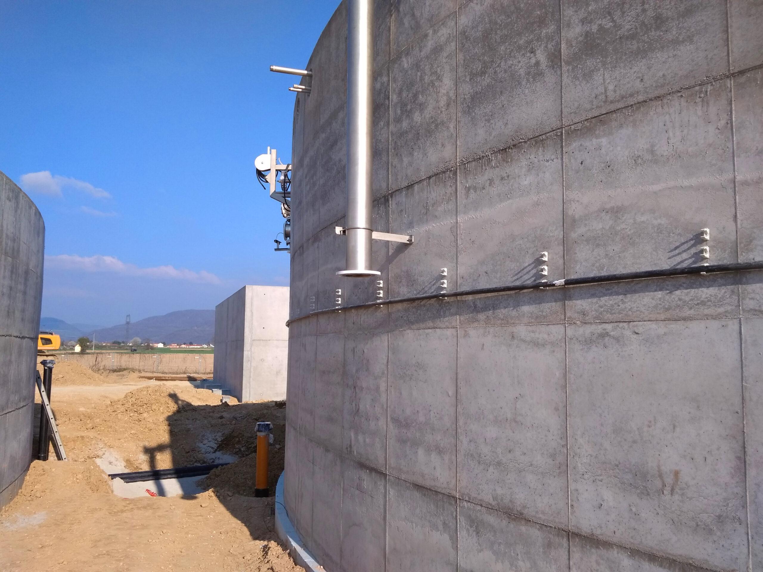 Biogás Planta Méthanisère Francia Vista General 08