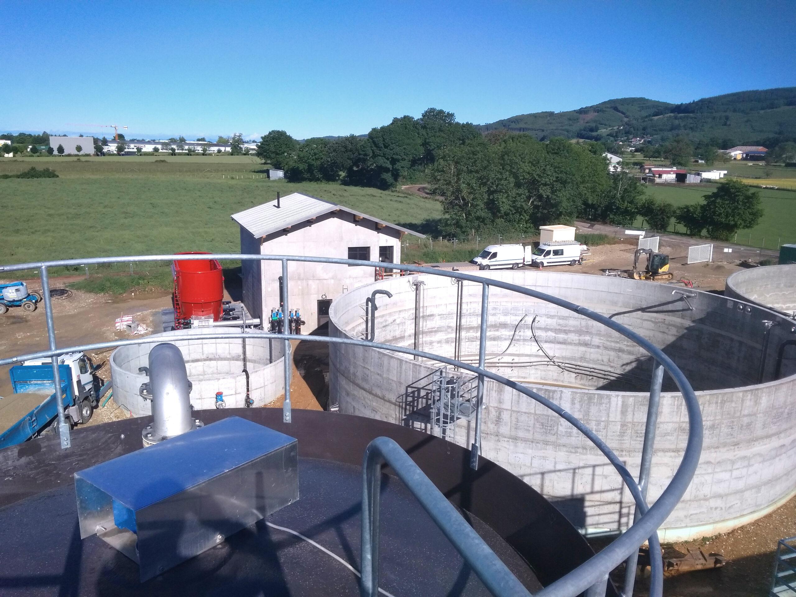Biogás Planta Méthanisère Francia Vista General02