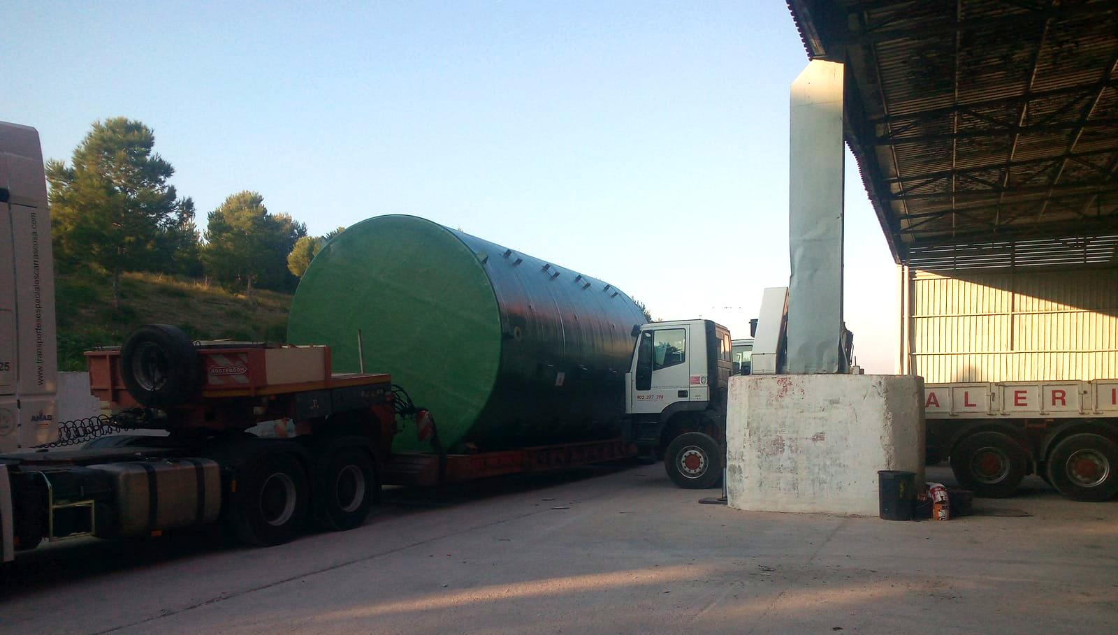 ValueWaste delivery installation tanks ValueWaste entrega instalación tanques 03