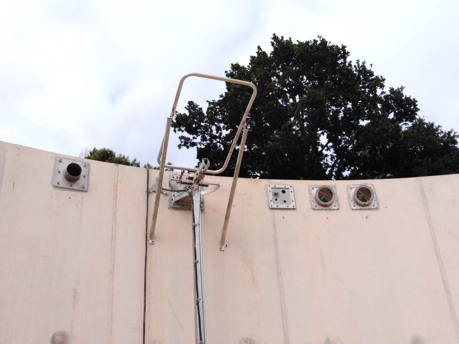 PlantaBiogás LAP Biogaz-EnviTec-Instalación equipos interior del digestor03