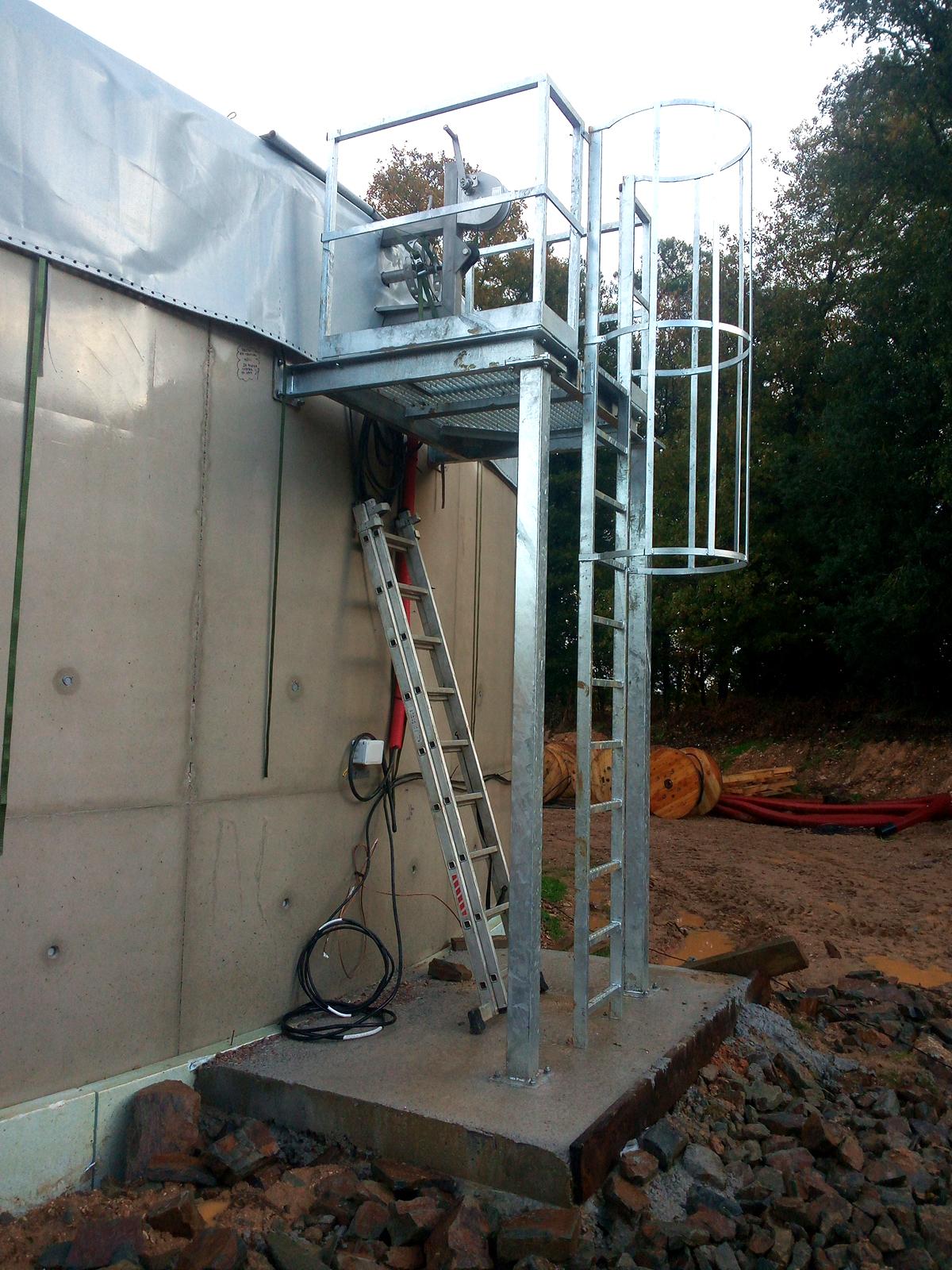 PlantaBiogás LAP Biogaz-EnviTec-Plataformas06