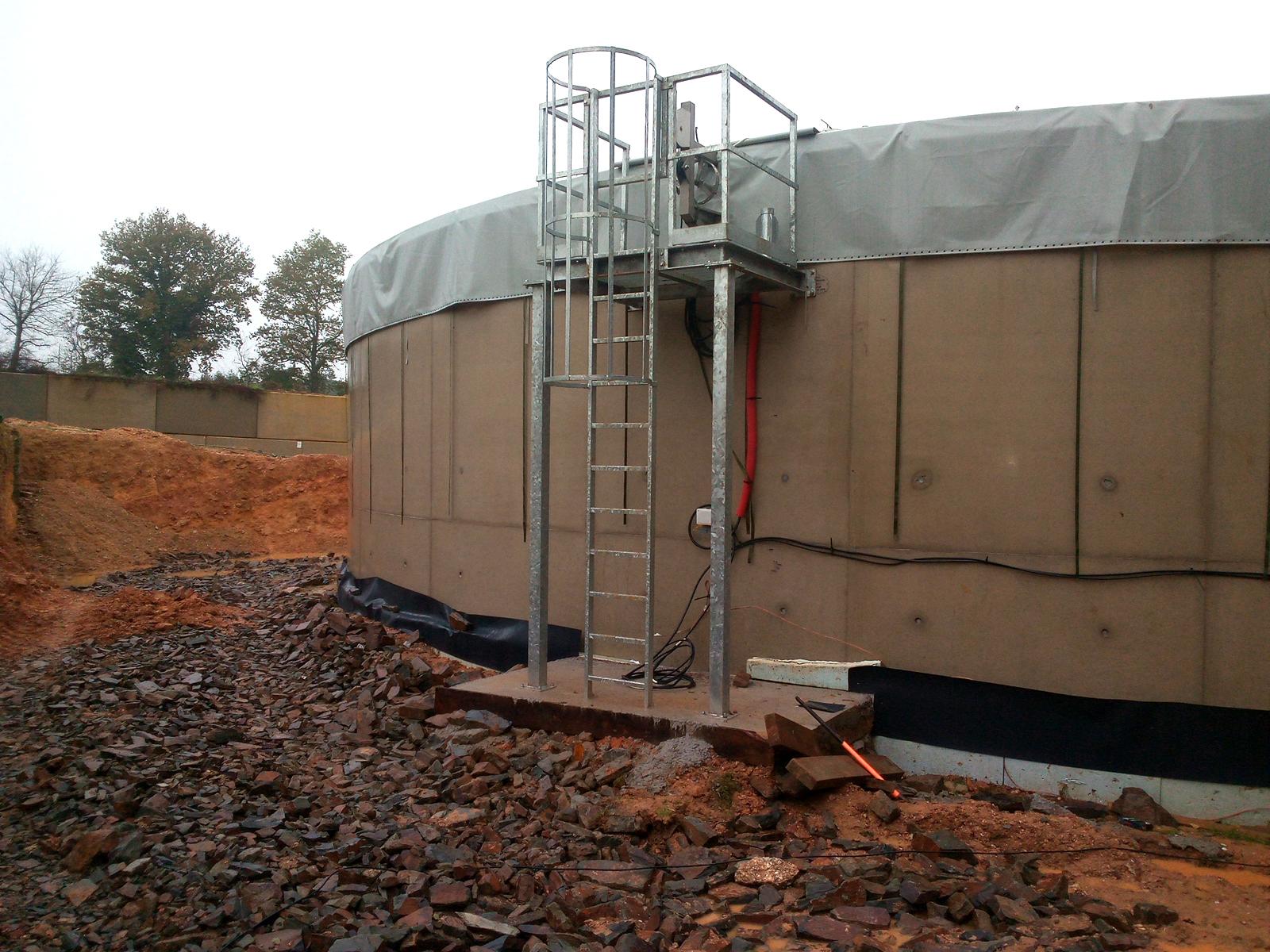 PlantaBiogás LAP Biogaz-EnviTec-Plataformas07
