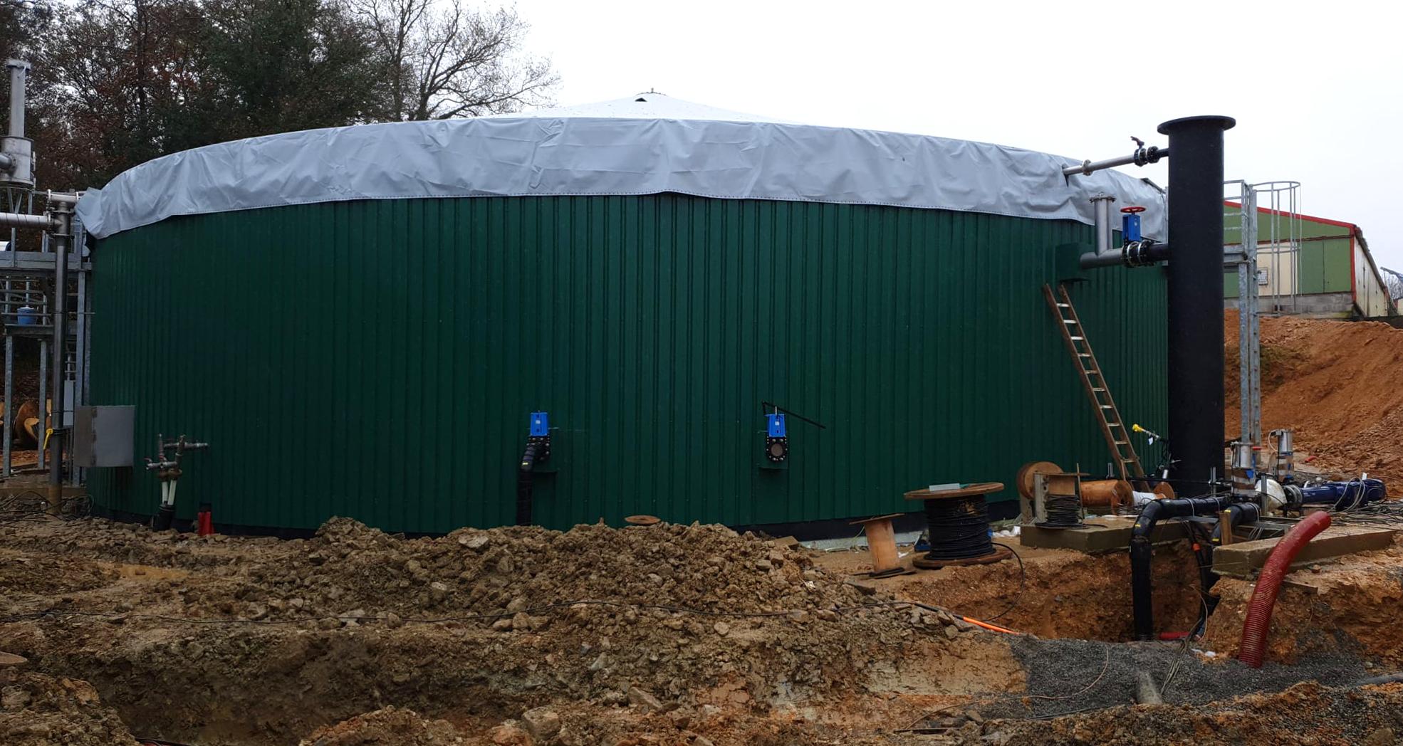 PlantaBiogás LAP Biogaz-EnviTec-Trabajos de aislamiento y recubrimiento del digesto01