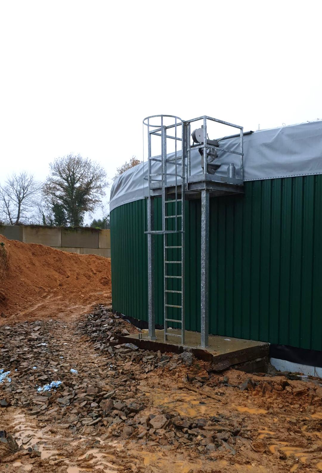 PlantaBiogás LAP Biogaz-EnviTec-Trabajos de aislamiento y recubrimiento del digesto03