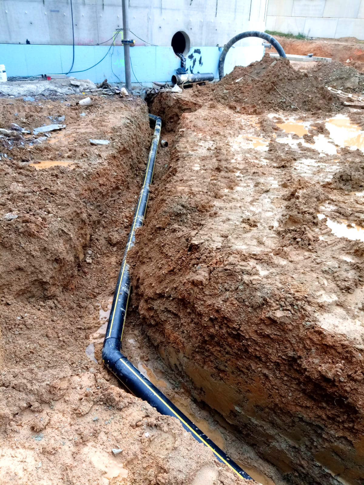 PlantaBiogás LAP Biogaz-EnviTec-Tubería enterrada05