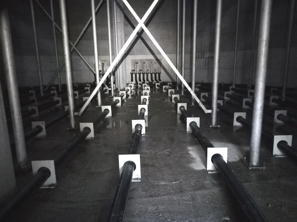 Planta de Tratamiento de Aguas Nazareth-Tubería PE Interior UASB