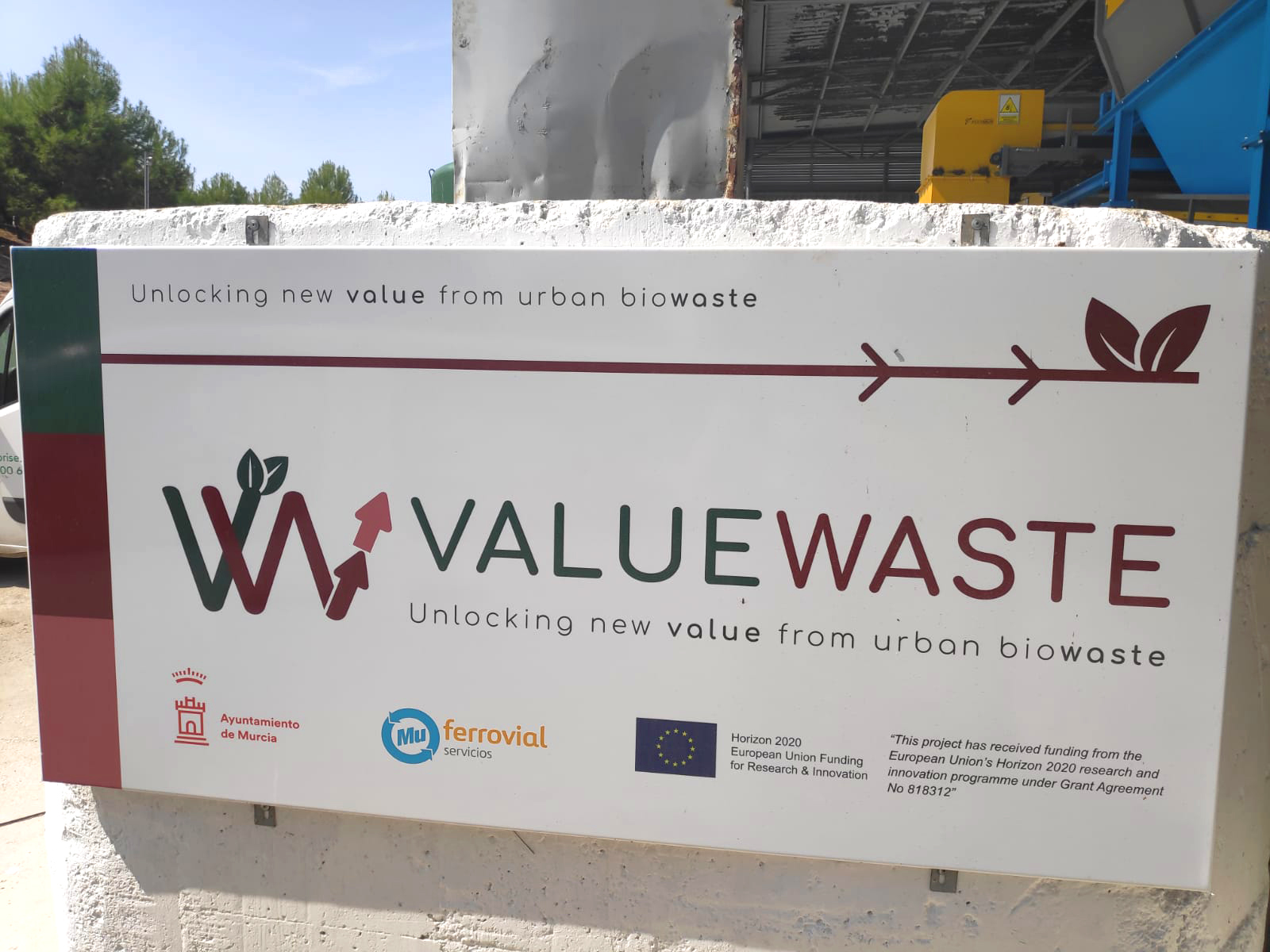 Unidad Piloto ValueWaste ValueWaste Installation Pilot Unit - 01