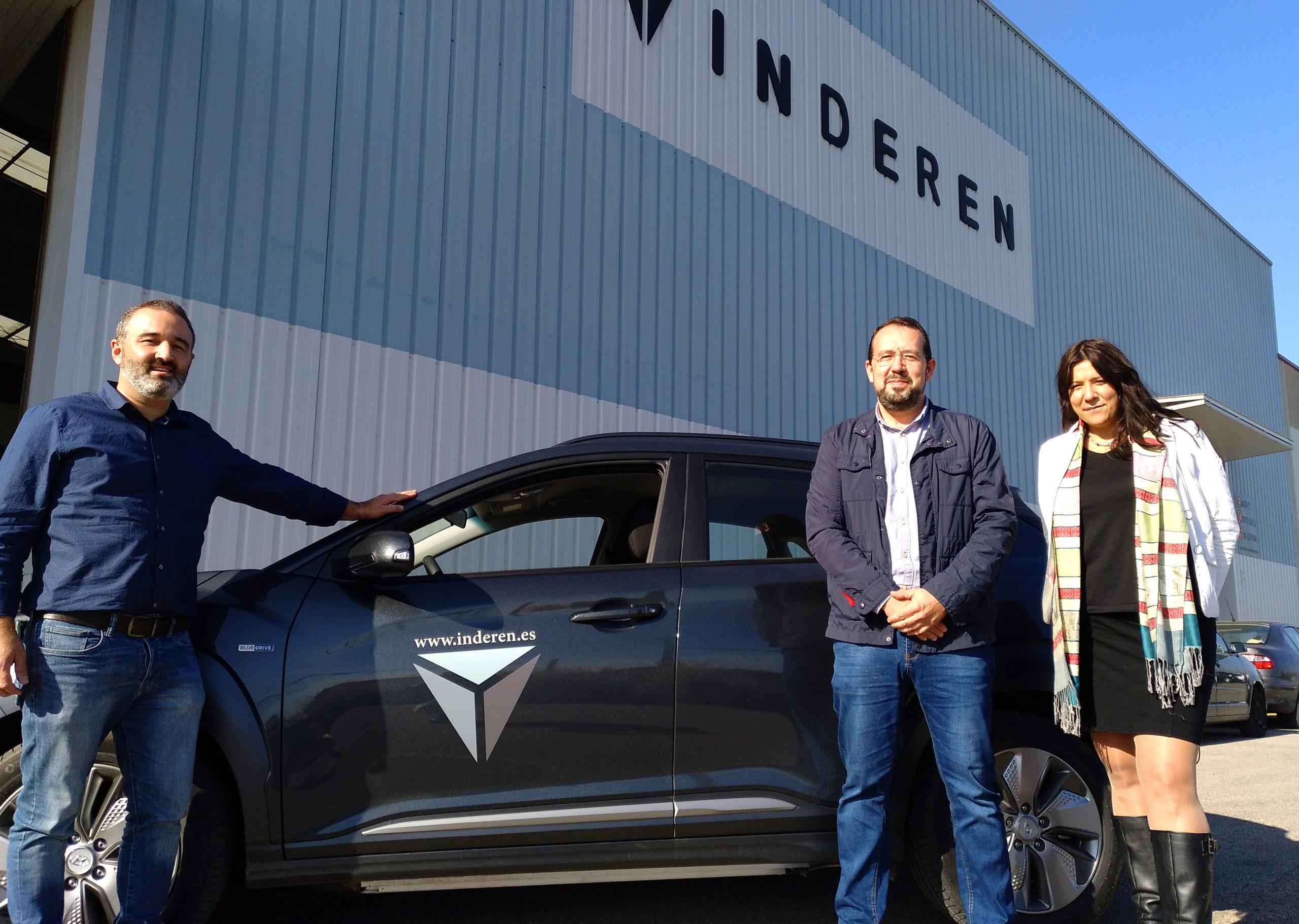 INDEREN Electric Vehicle INDEREN Nuevo Vehículo Eléctrico 04