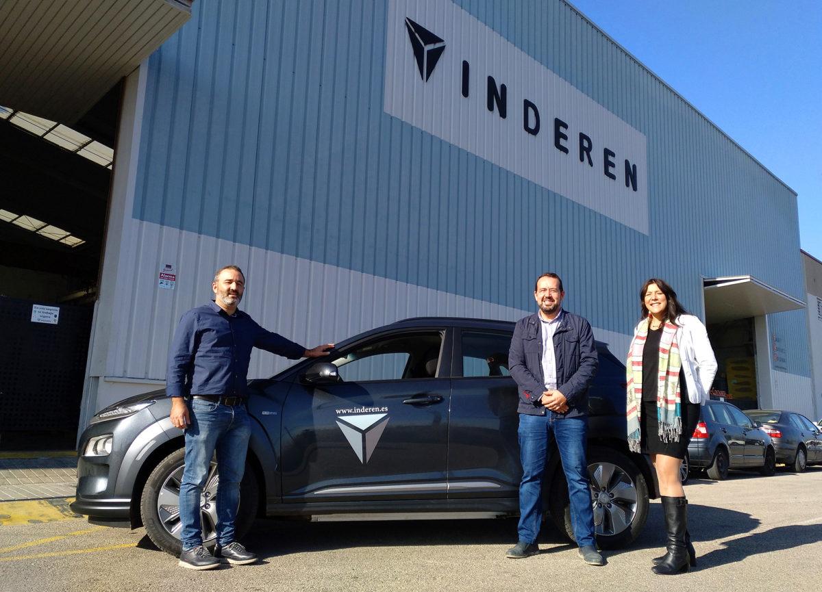 INDEREN Electric Vehicle INDEREN Nuevo Vehículo Eléctrico 01