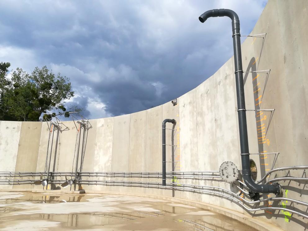 INDEREN Planta Biogás Sologne-ENVITEC Sologne-Instalación equipos digestor01