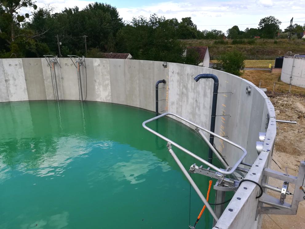 INDEREN Planta Biogás Sologne-ENVITEC Sologne-Instalación equipos digestor02