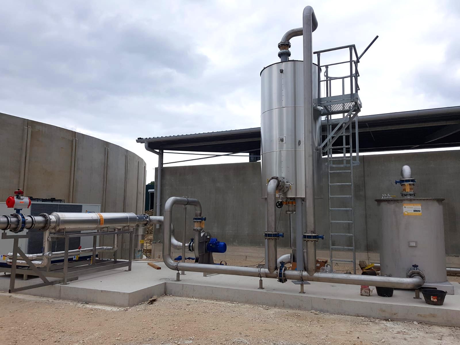INDEREN Planta Biogás Sologne-Gas cooling01