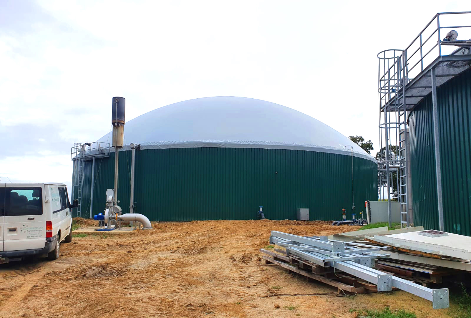 Planta Biogás Biowatt Francia-Revestimiento01