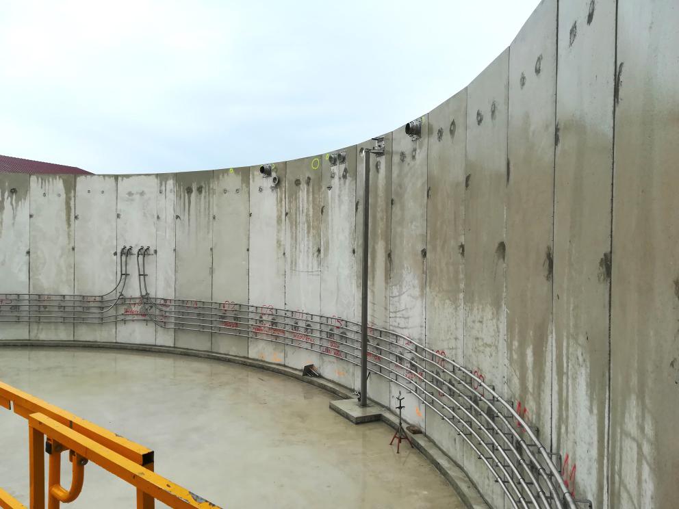 SARON Biogas Plant INDEREN Planta Biogás SARON INDEREN-Instalación digestores01