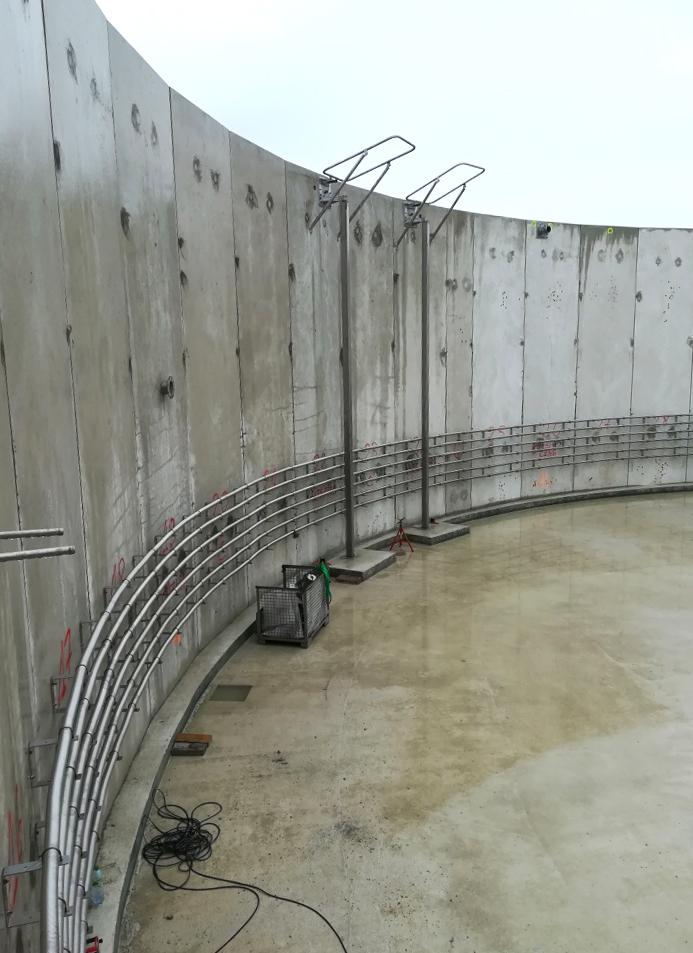 SARON Biogas Plant INDEREN Planta Biogás SARON INDEREN-Instalación digestores02