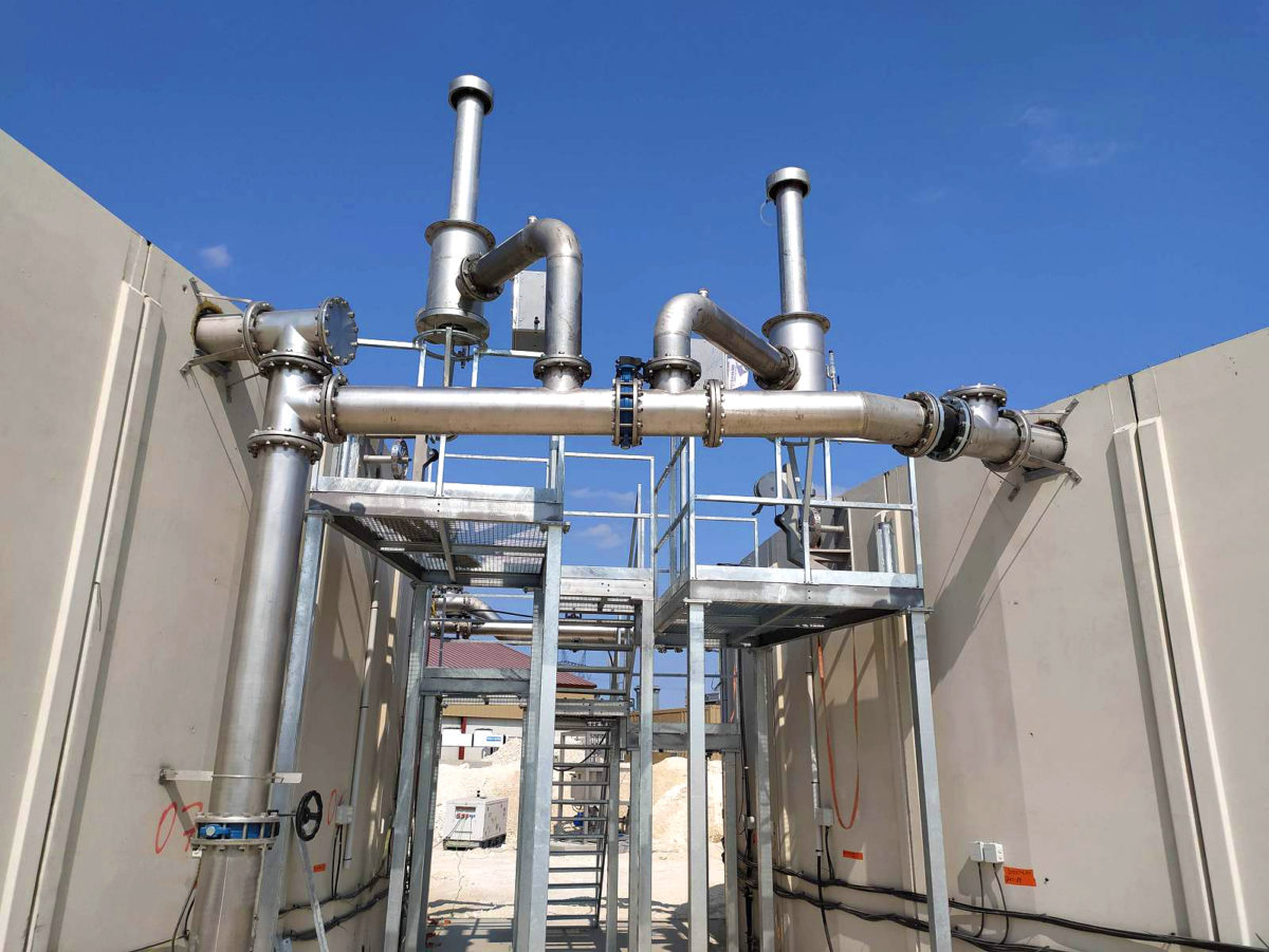 SARON Biogas Plant INDEREN Planta Biogás SARON INDEREN-Plataformas01