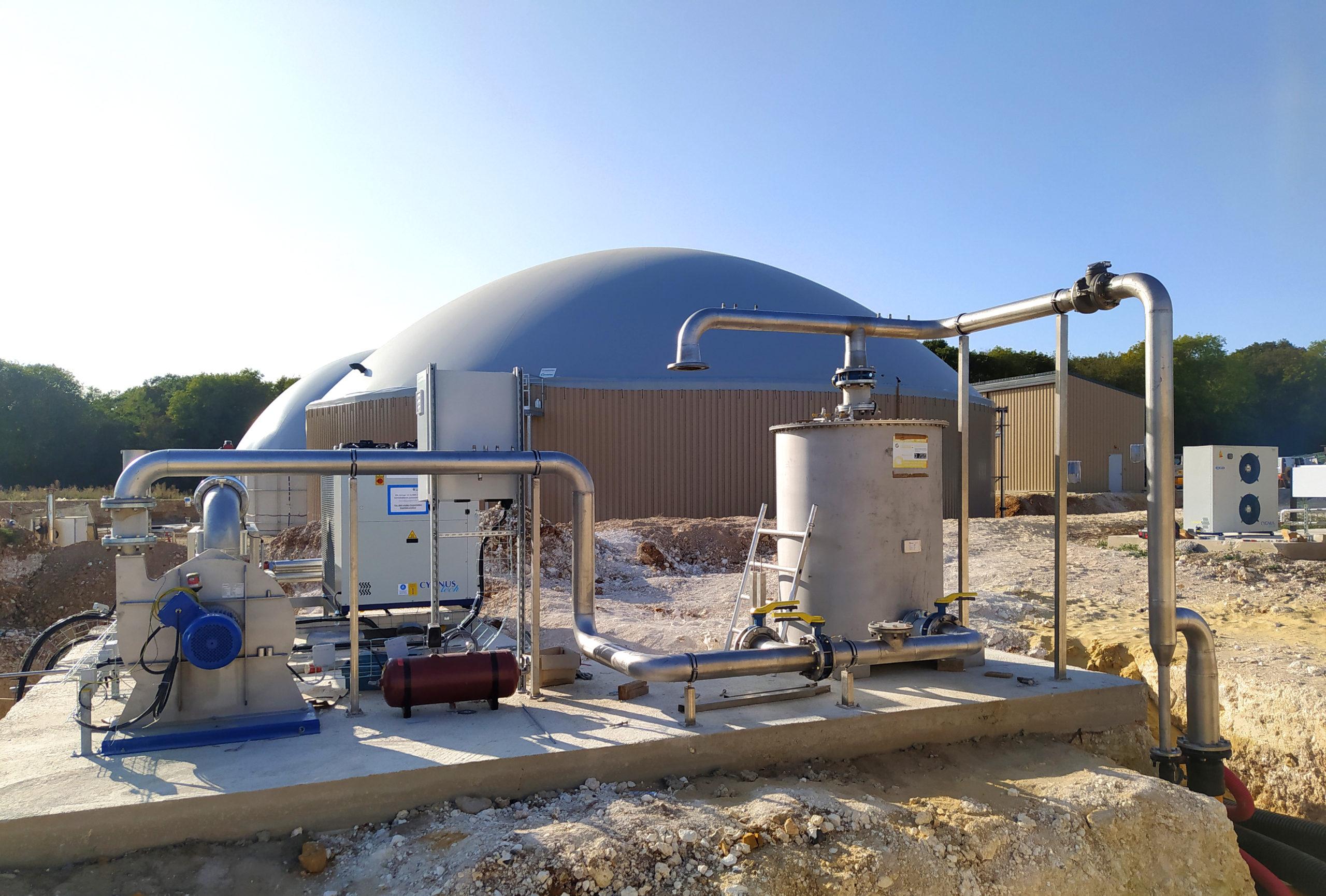 Planta Biogás Thelle INDEREN-Gas cooling01