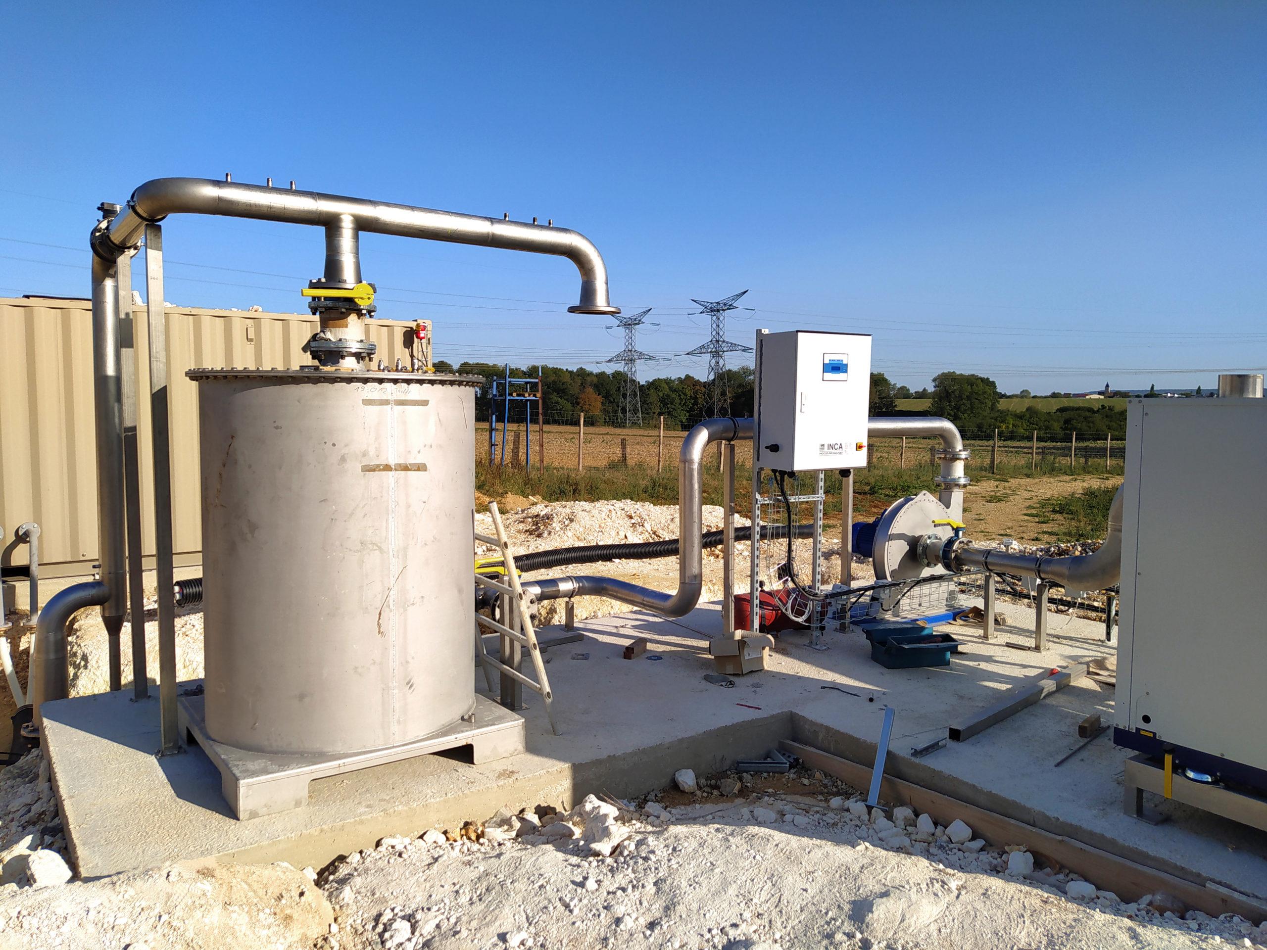 Planta Biogás Thelle INDEREN-Gas cooling02