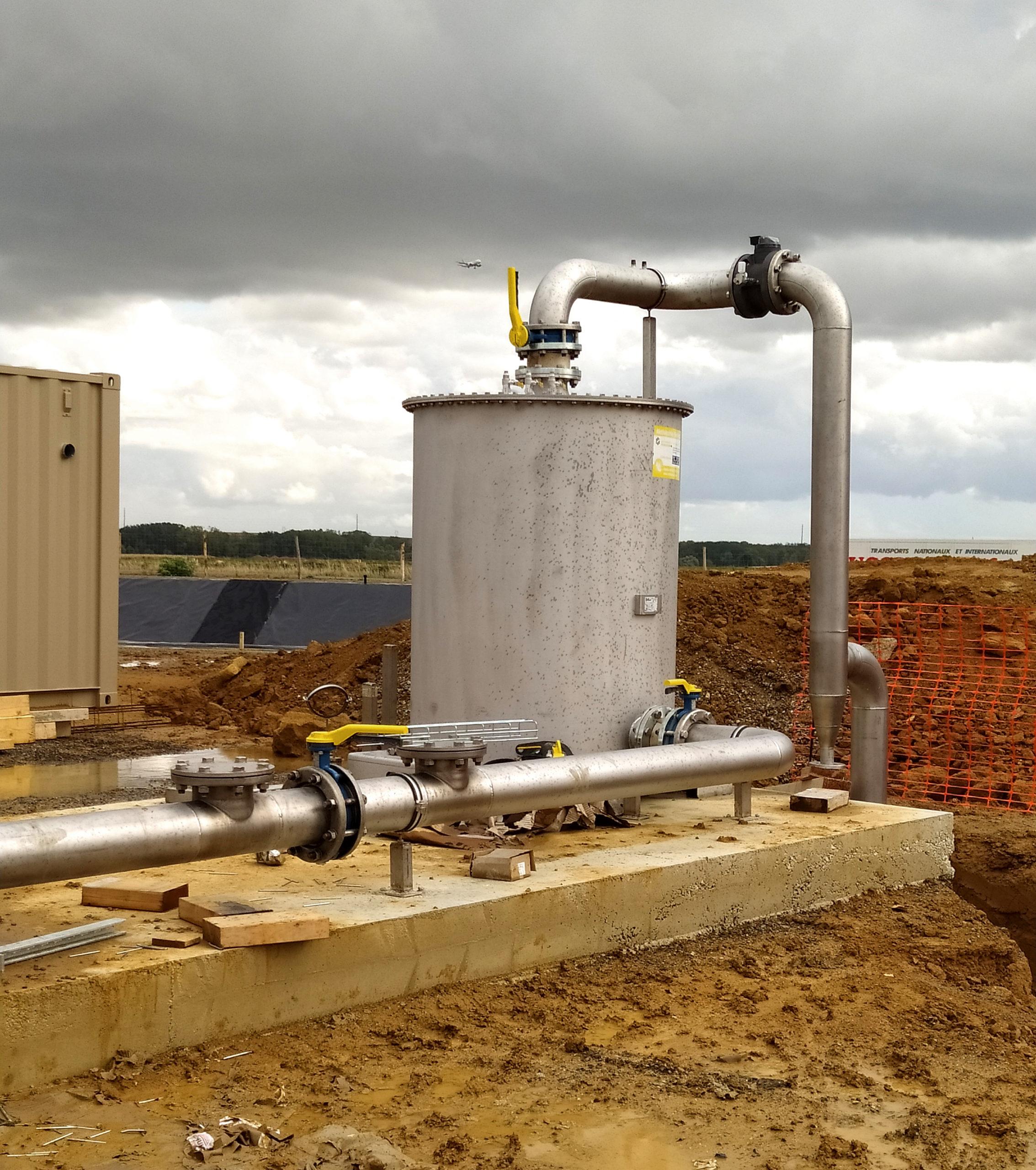 EVR Biogas Plant INDEREN Planta Biogás EVR INDEREN-GasCooling02