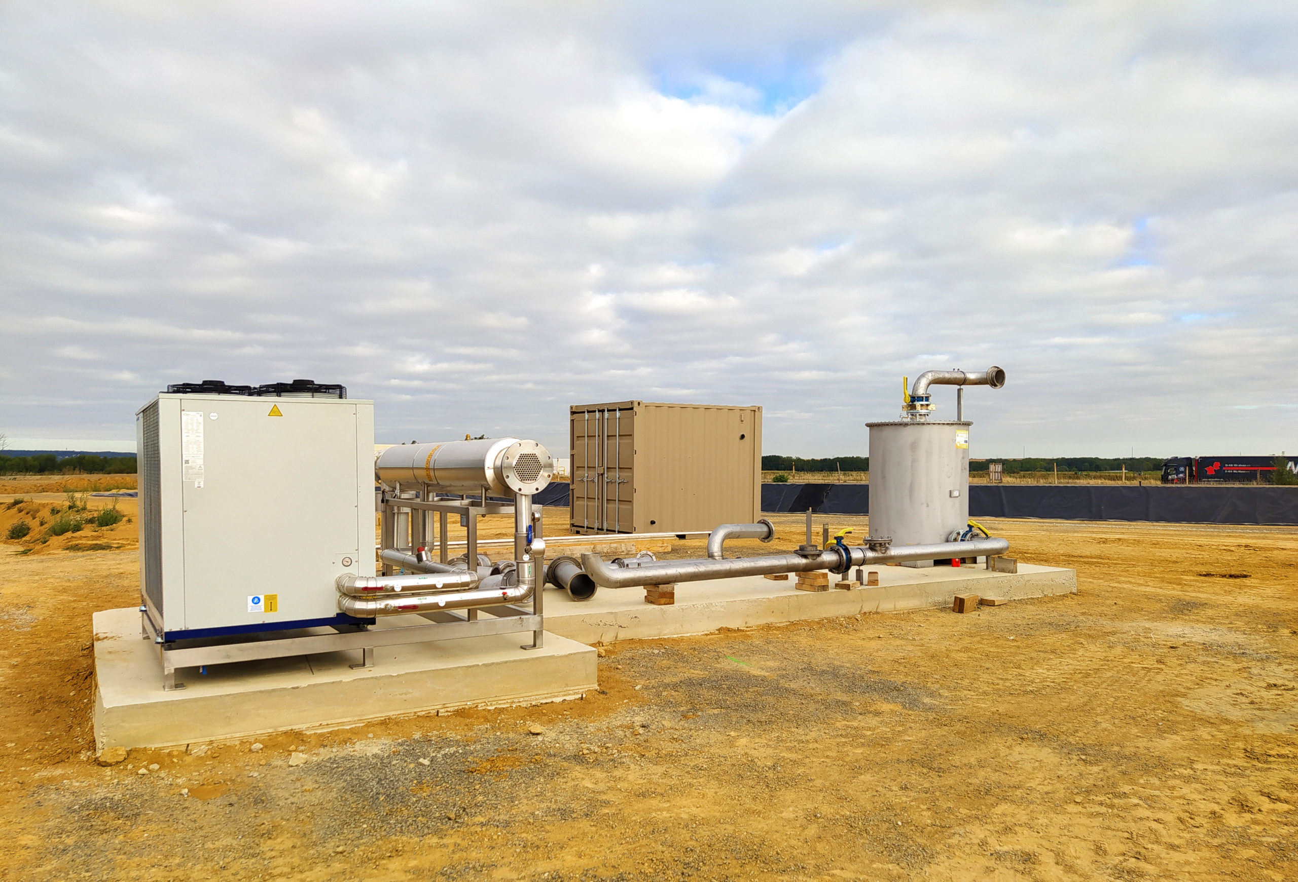 EVR Biogas Plant INDEREN Planta Biogás EVR INDEREN-GasCooling04