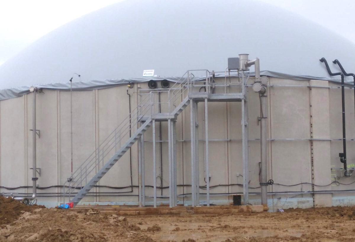 EVR Biogas Plant INDEREN Planta Biogás EVR INDEREN-Plataformas05