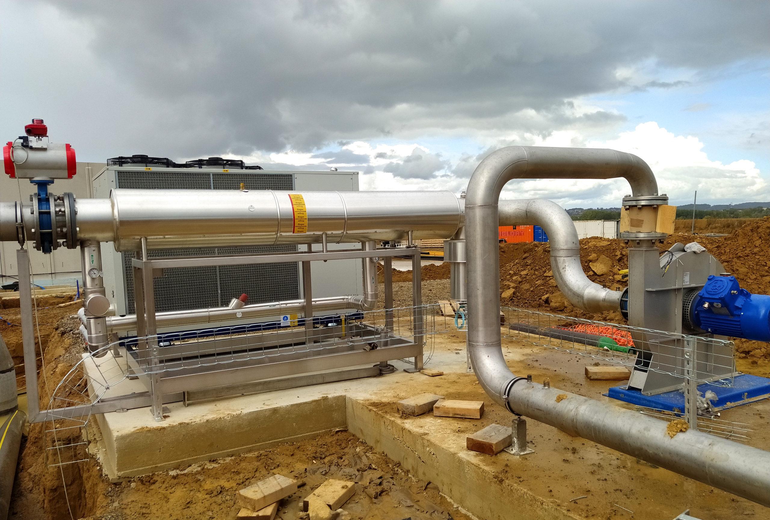 EVR Biogas Plant INDEREN Planta Biogás EVR INDEREN-GasCooling01