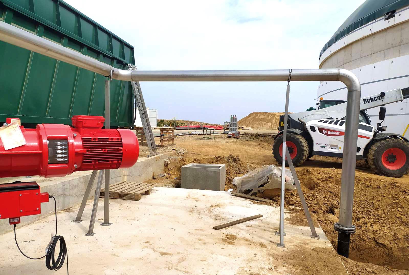 Deschamps Biogas Plant INDEREN Planta Biogás Deschamps INDEREN-Acero inoxidable-08